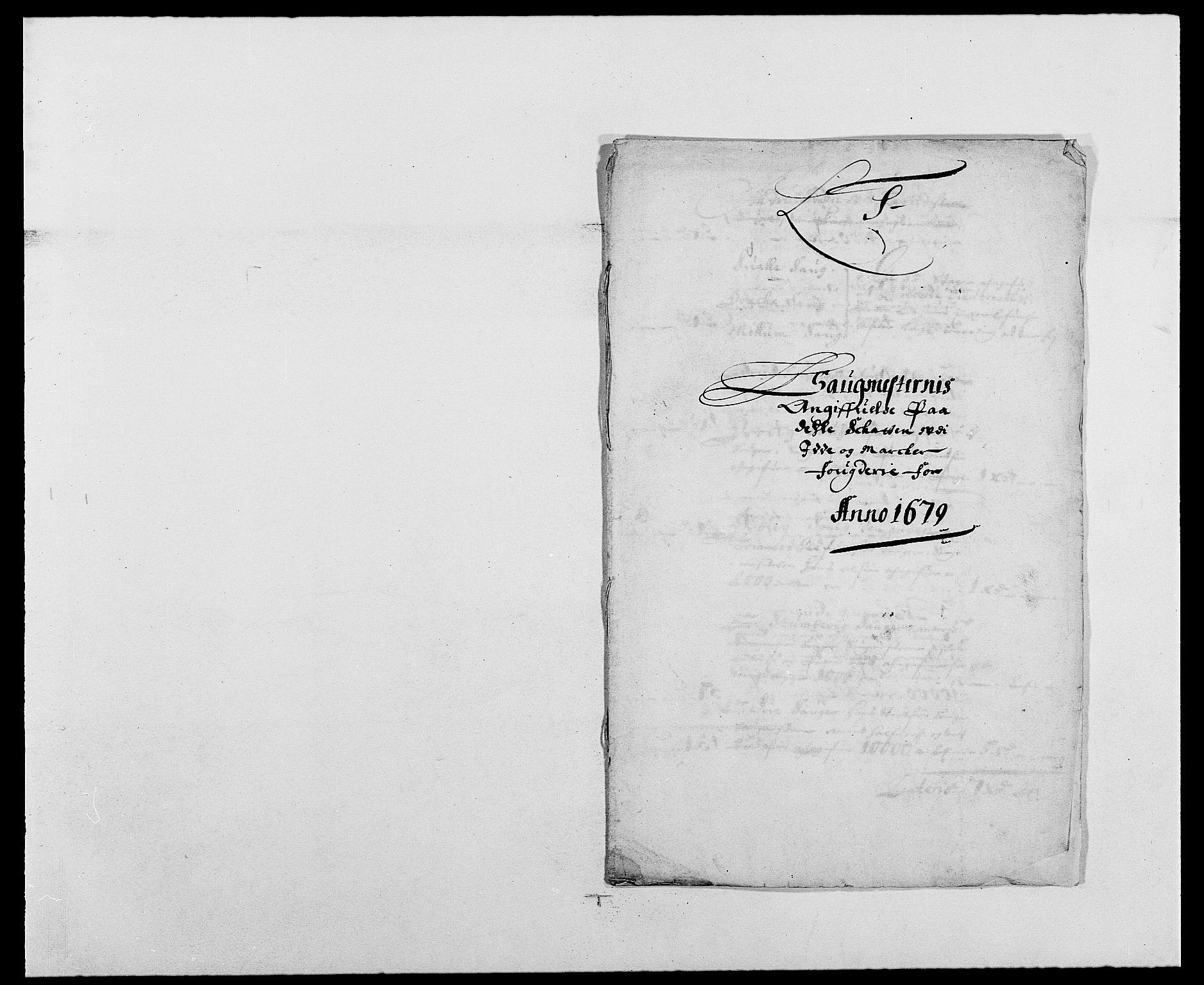 RA, Rentekammeret inntil 1814, Reviderte regnskaper, Fogderegnskap, R01/L0001: Fogderegnskap Idd og Marker, 1678-1679, s. 471
