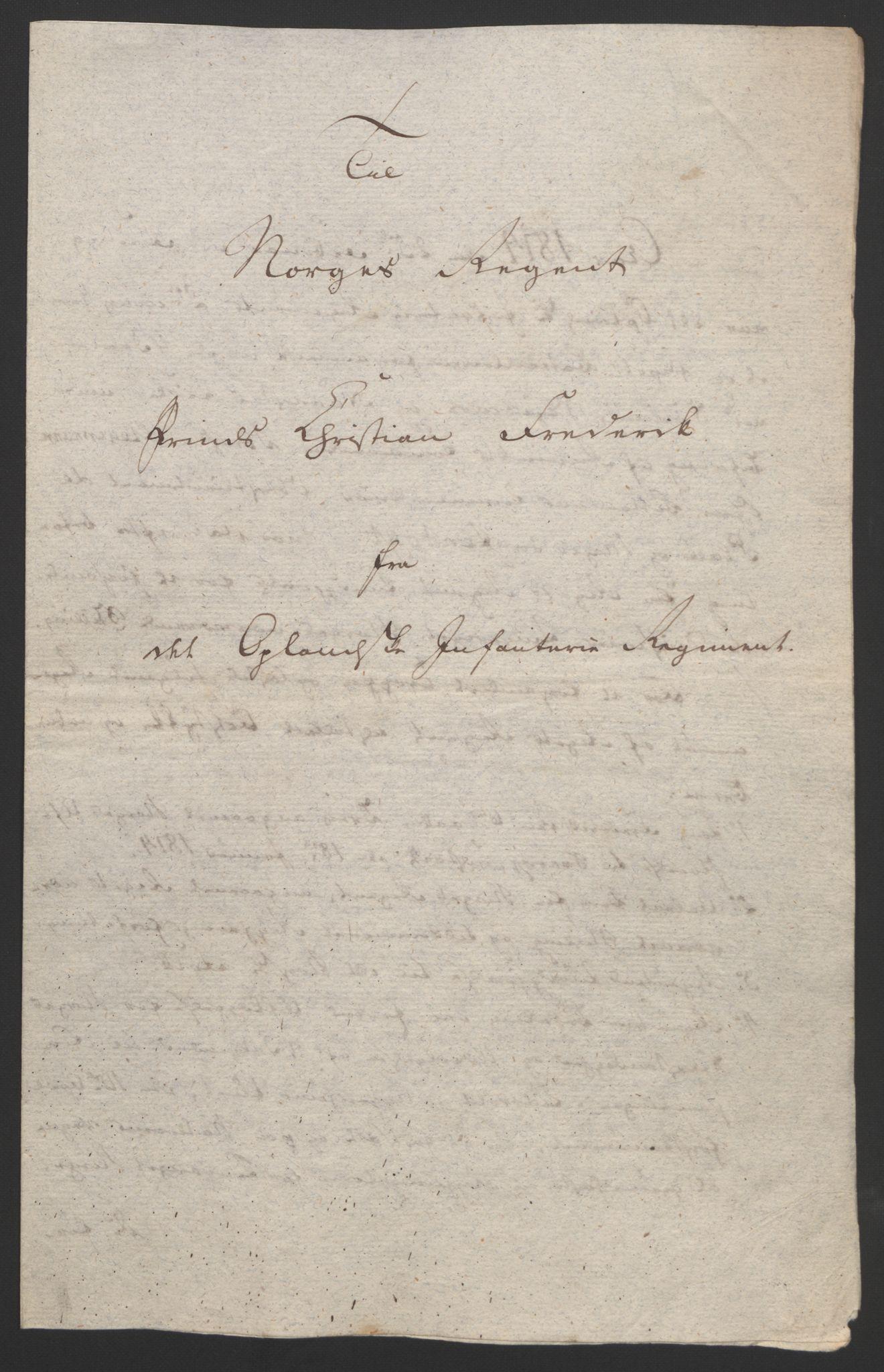 RA, Statsrådssekretariatet, D/Db/L0007: Fullmakter for Eidsvollsrepresentantene i 1814. , 1814, s. 81