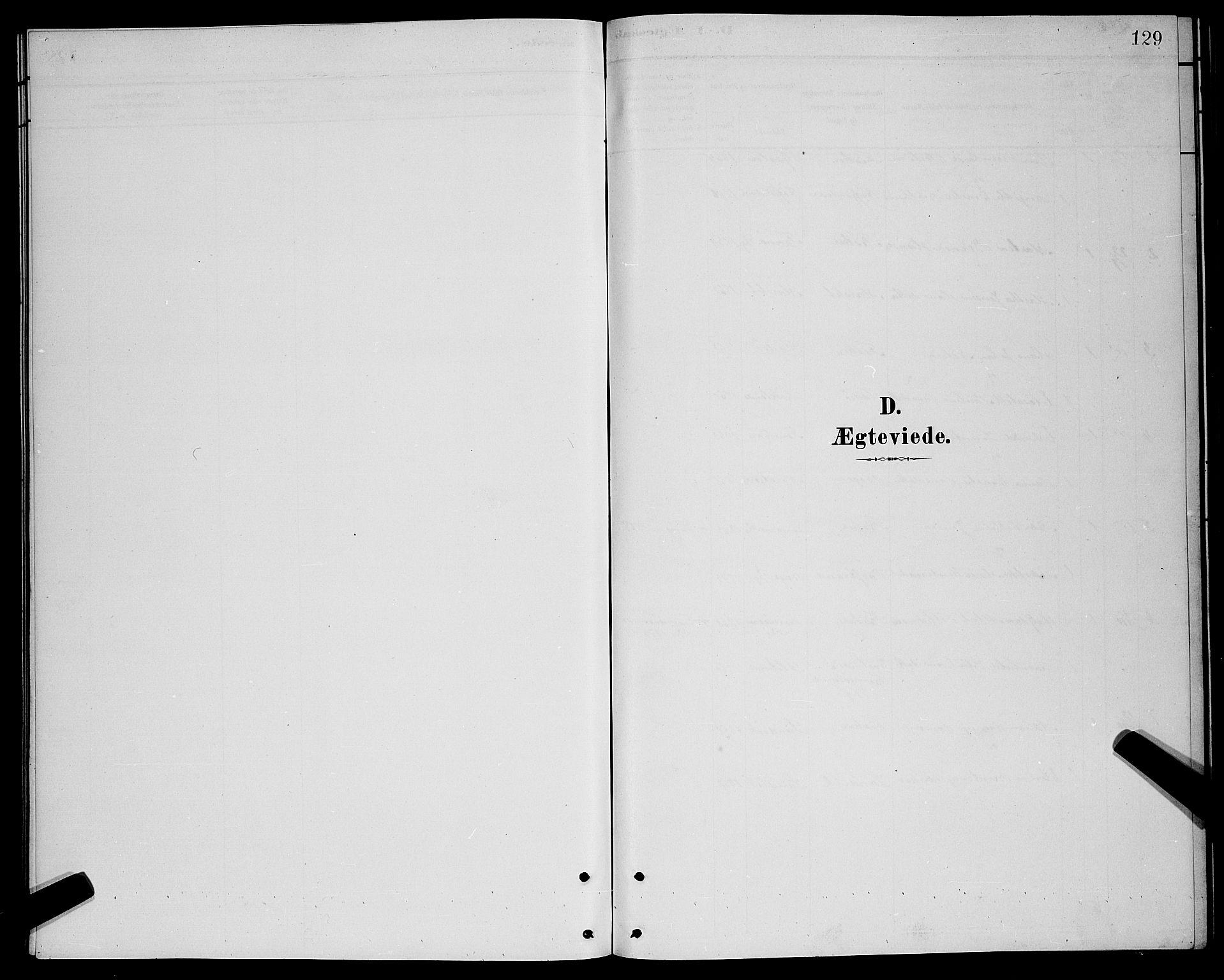 SATØ, Lenvik sokneprestembete, H/Ha: Klokkerbok nr. 21, 1884-1900, s. 129