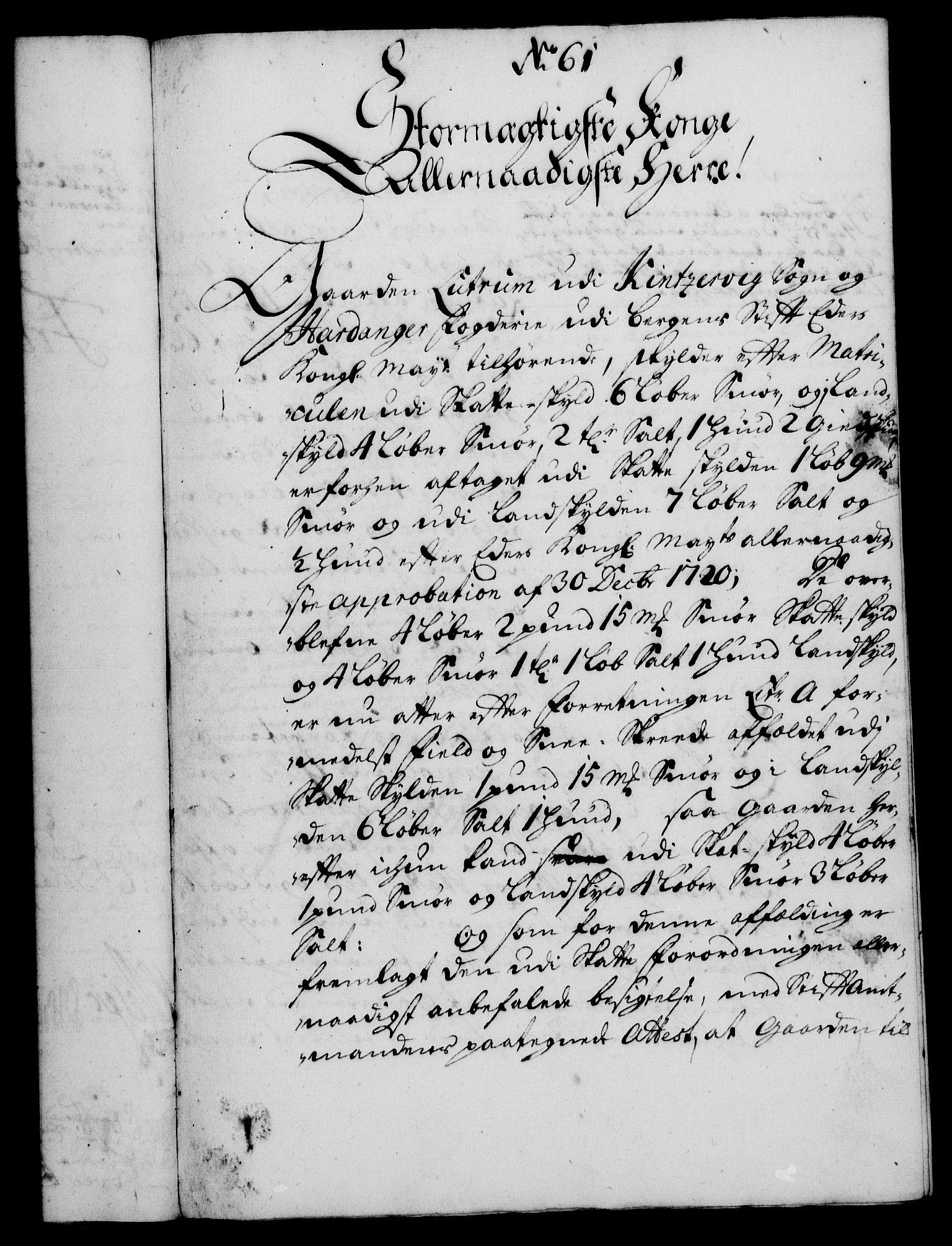 RA, Rentekammeret, Kammerkanselliet, G/Gf/Gfa/L0013: Norsk relasjons- og resolusjonsprotokoll (merket RK 52.13), 1730, s. 361