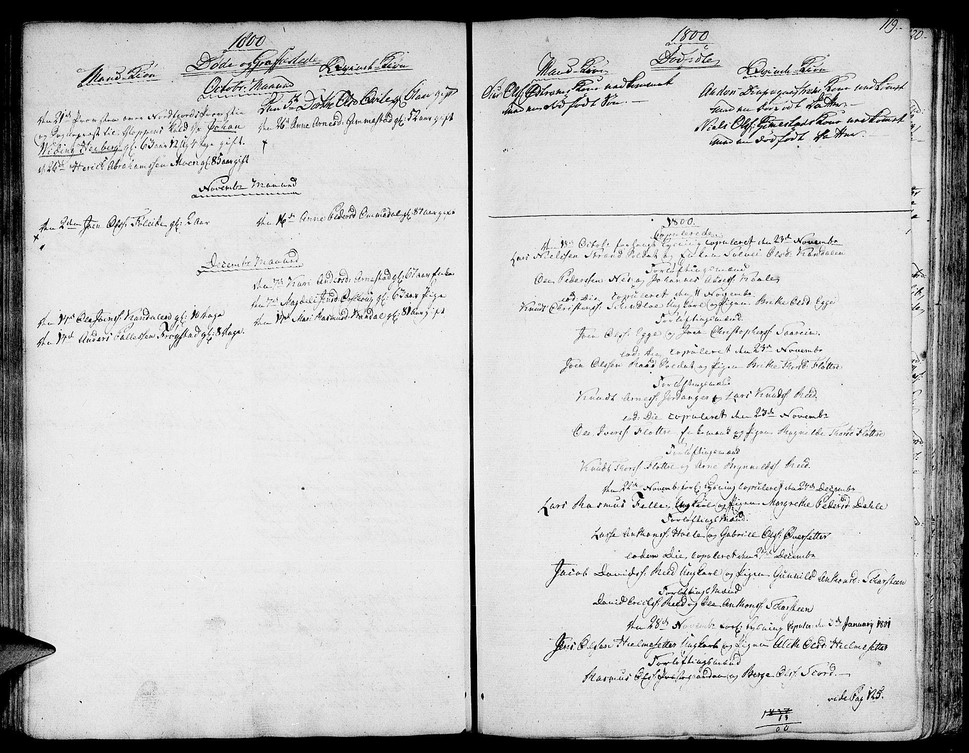 SAB, Gloppen sokneprestembete, H/Haa/Haaa/L0005: Ministerialbok nr. A 5, 1785-1815, s. 119