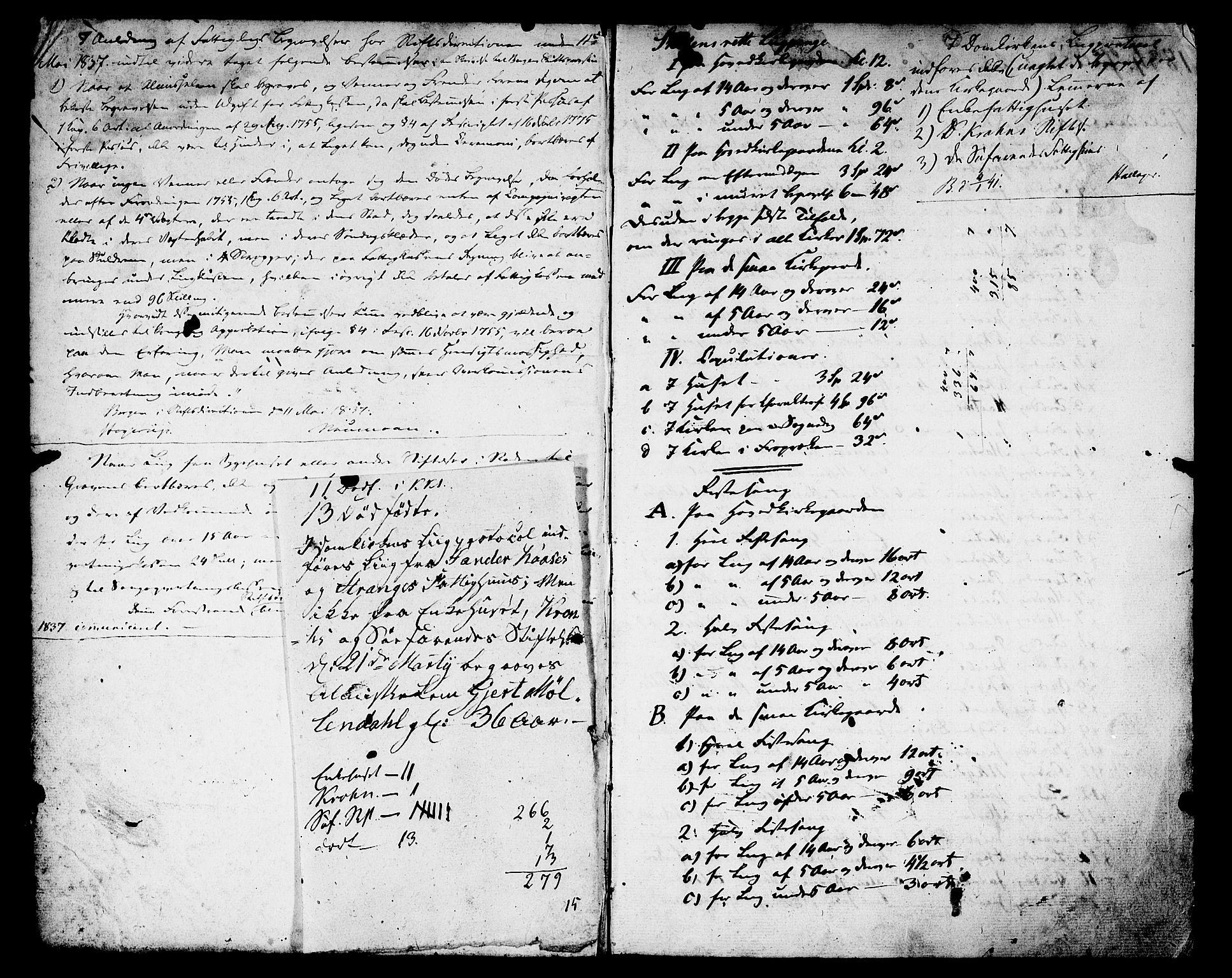 SAB, Domkirken Sokneprestembete, Annen kirkebok nr. I.4.H, 1834-1841