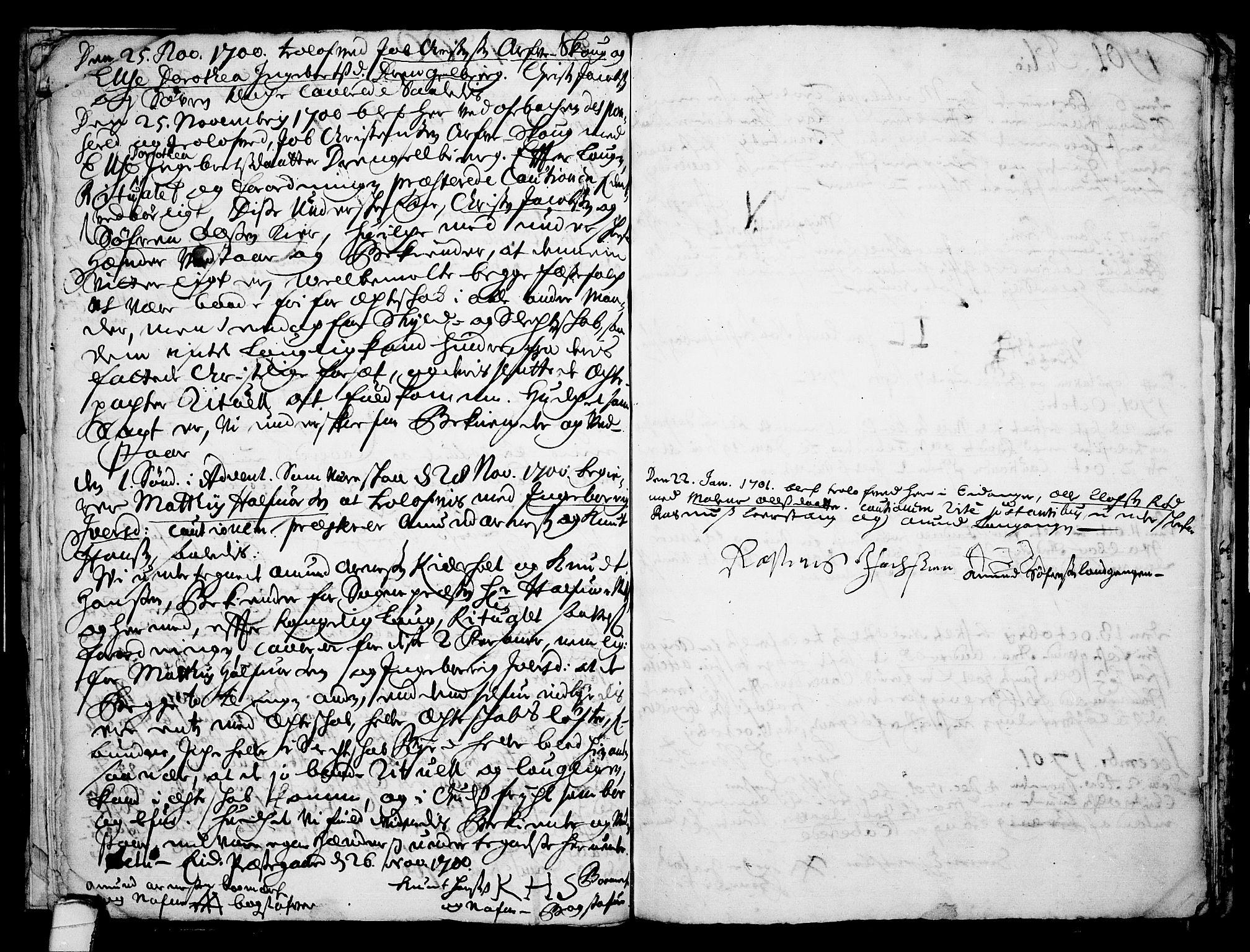 SAKO, Eidanger kirkebøker, F/Fa/L0001: Ministerialbok nr. 1, 1695-1717, s. 17