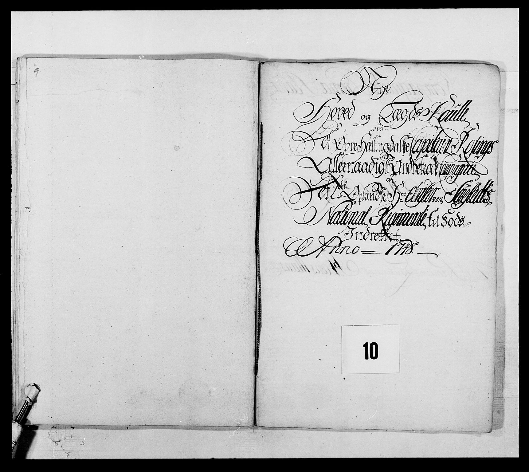 RA, Kommanderende general (KG I) med Det norske krigsdirektorium, E/Ea/L0505: 2. Opplandske regiment, 1748, s. 277