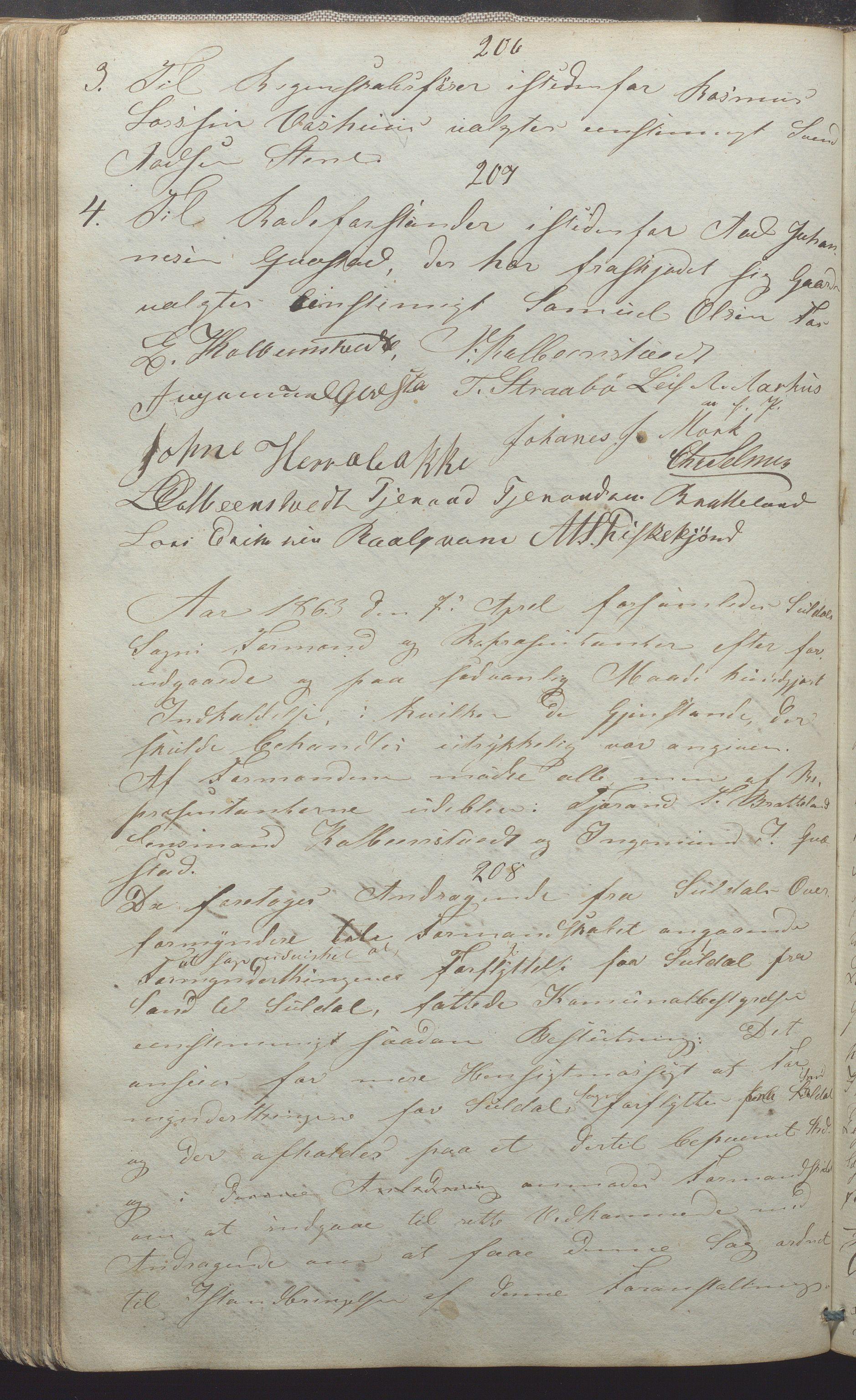 IKAR, Suldal kommune - Formannskapet/Rådmannen, A/Aa/L0001: Møtebok, 1837-1876, s. 146b