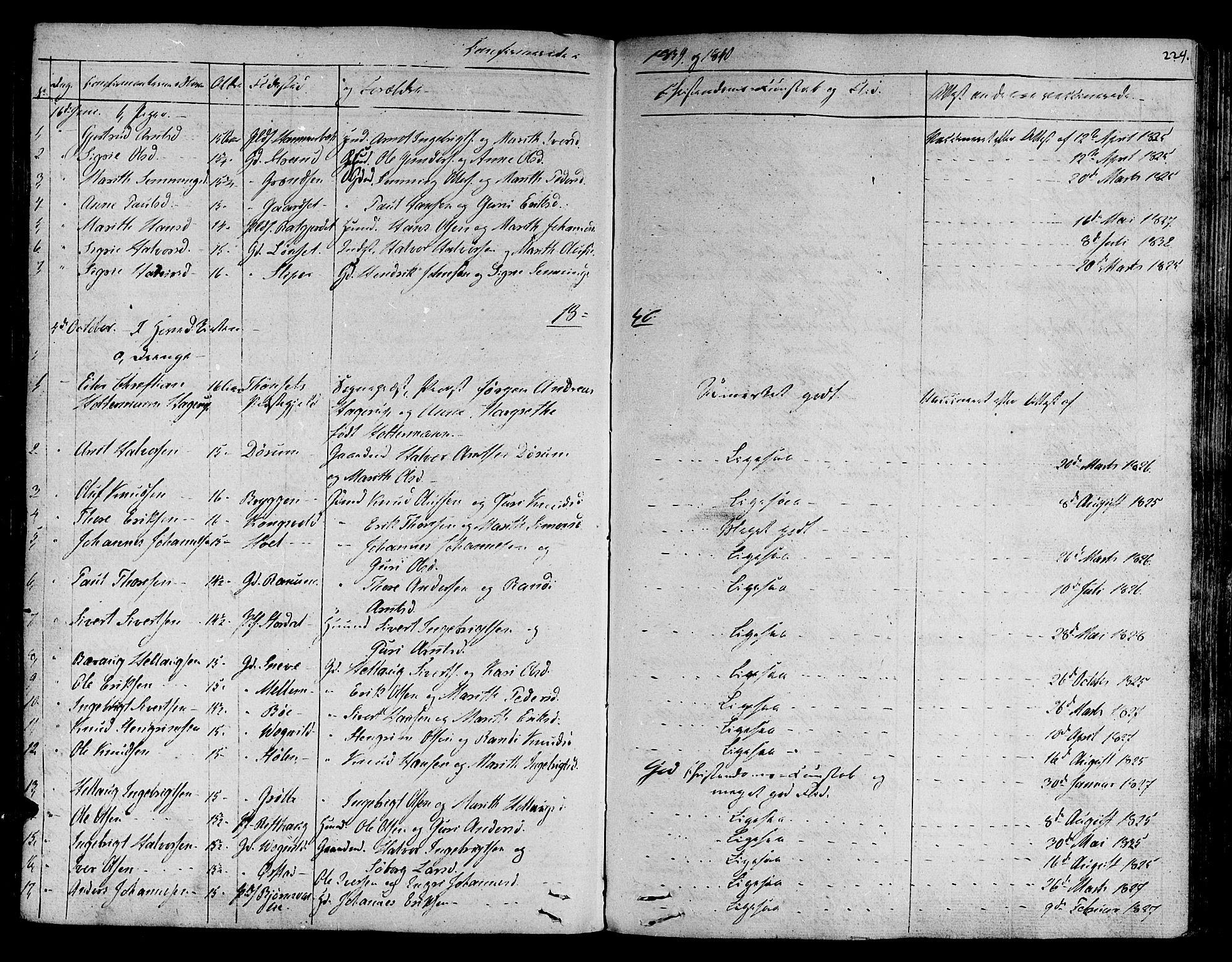 SAT, Ministerialprotokoller, klokkerbøker og fødselsregistre - Sør-Trøndelag, 678/L0897: Ministerialbok nr. 678A06-07, 1821-1847, s. 229