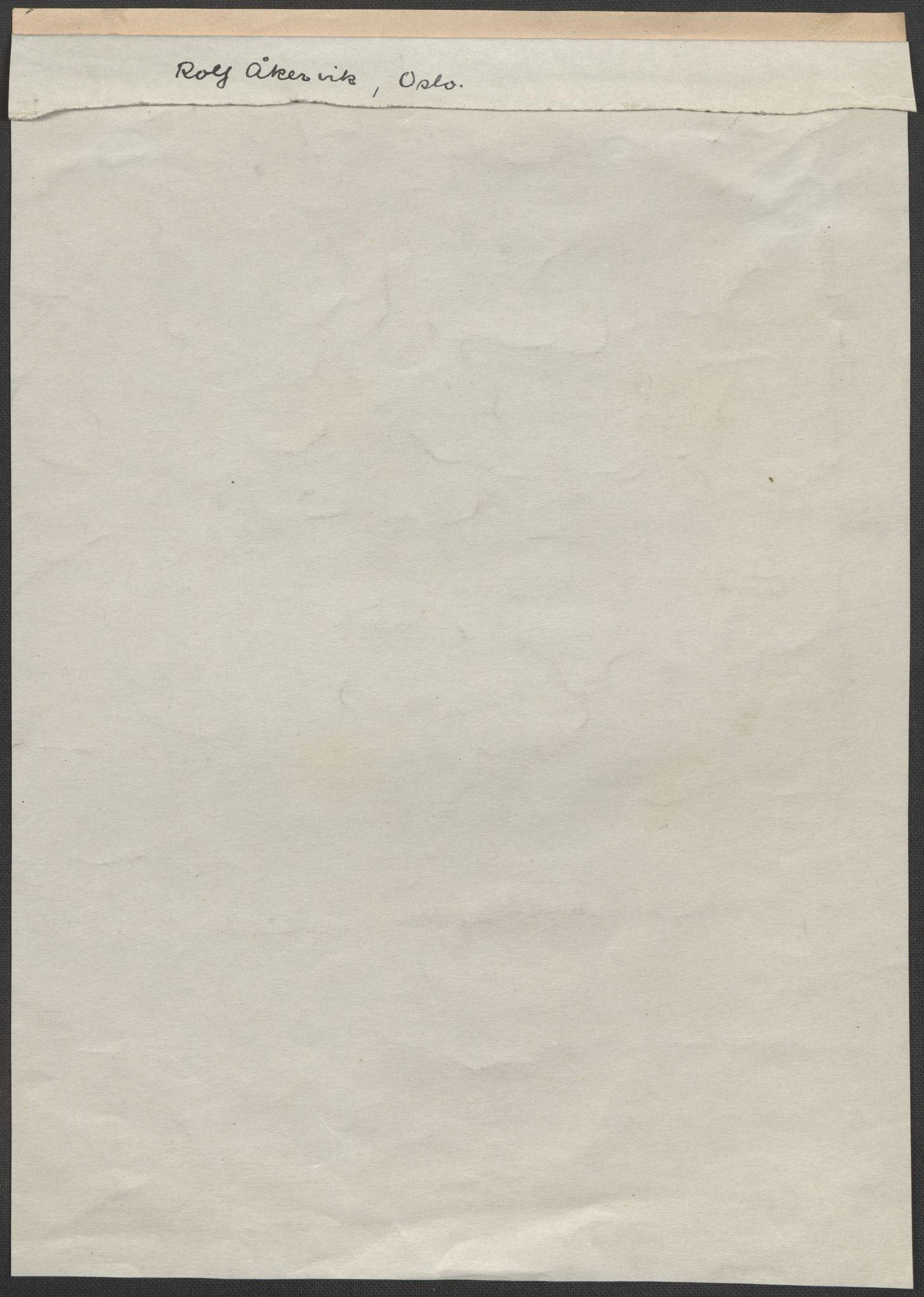 RA, Grøgaard, Joachim, F/L0002: Tegninger og tekster, 1942-1945, s. 121