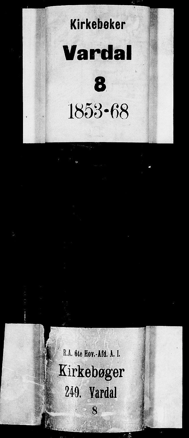 SAH, Vardal prestekontor, H/Ha/Hab/L0005: Klokkerbok nr. 5, 1854-1868
