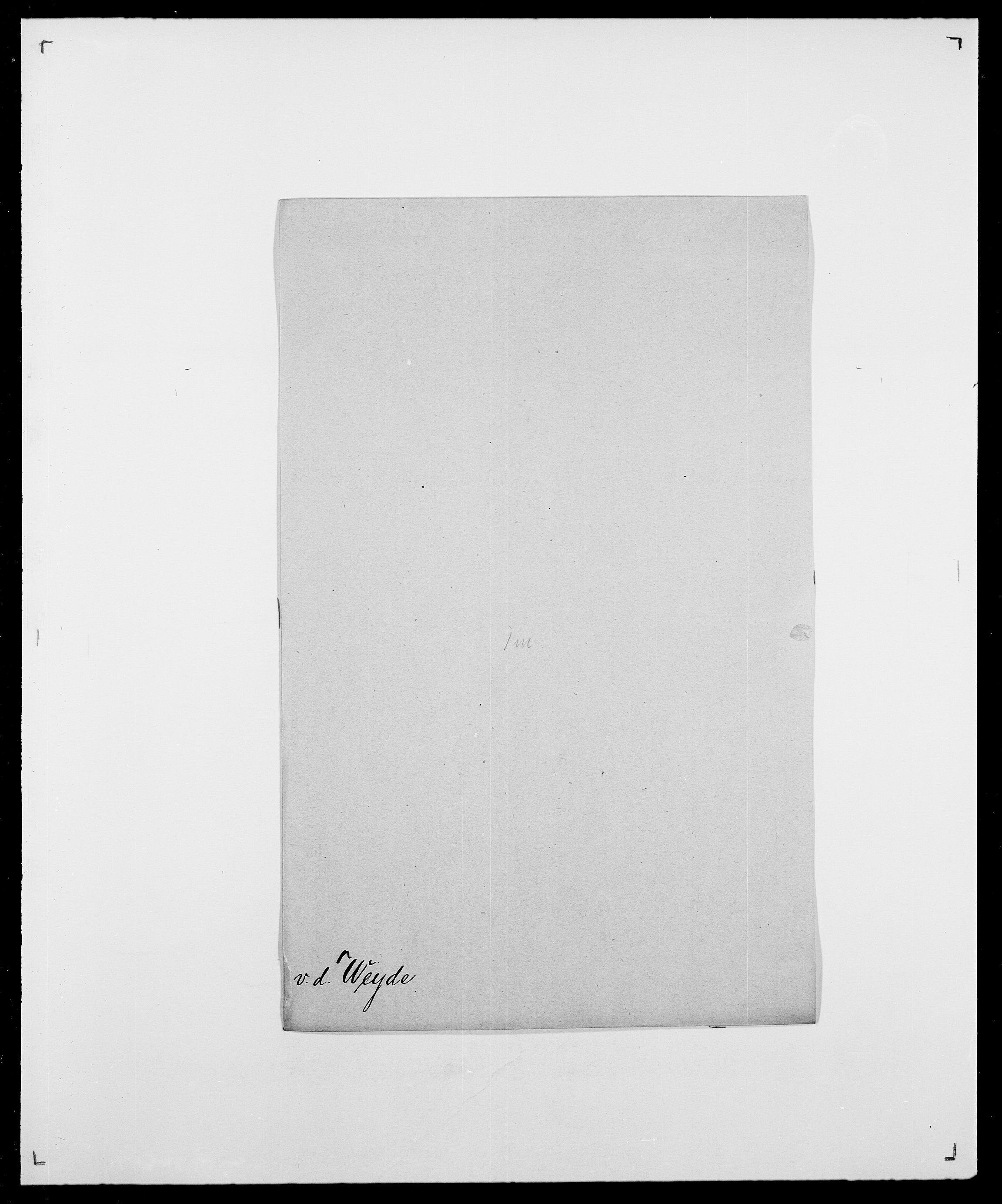 SAO, Delgobe, Charles Antoine - samling, D/Da/L0041: Vemmestad - Viker, s. 361