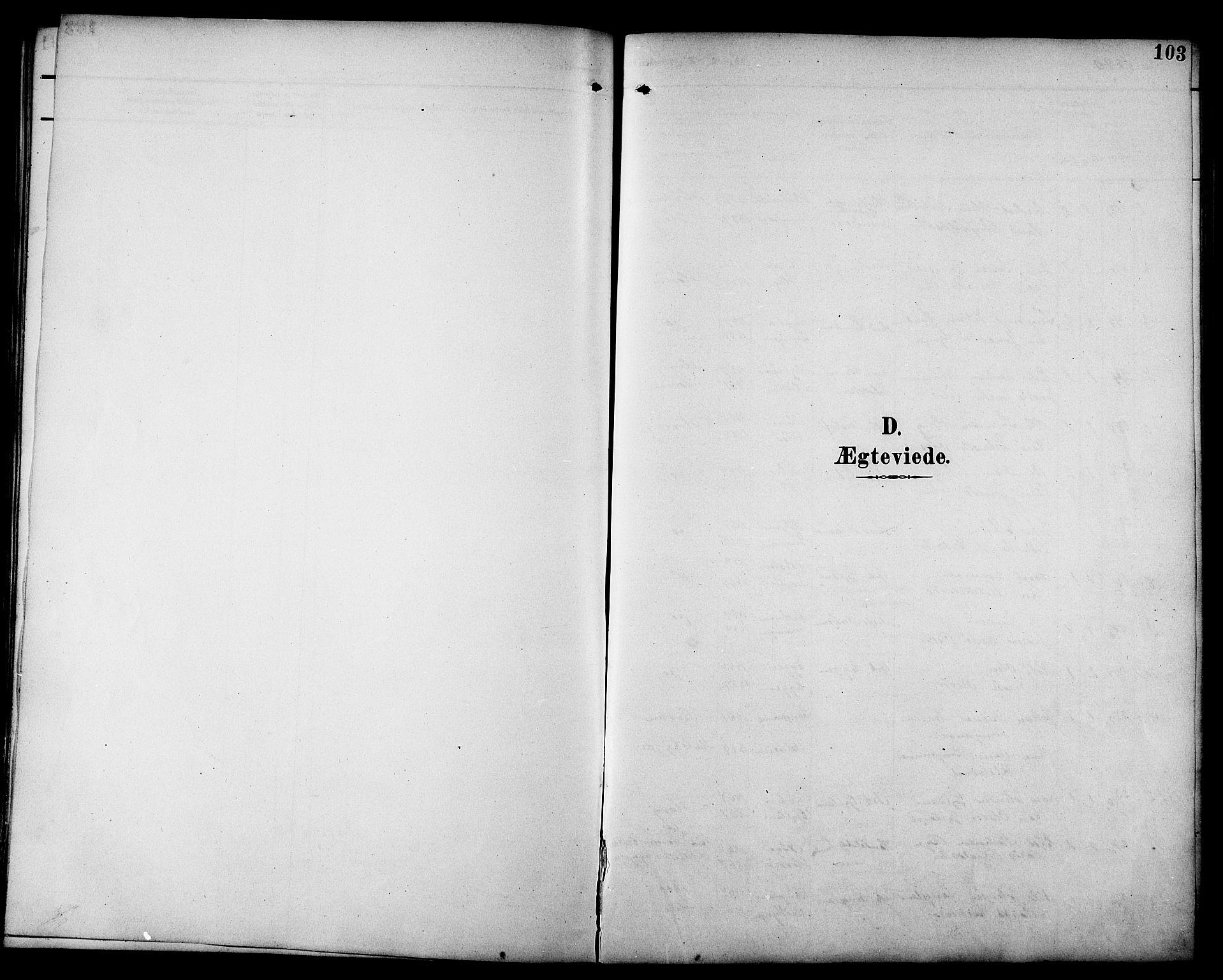 SAT, Ministerialprotokoller, klokkerbøker og fødselsregistre - Sør-Trøndelag, 692/L1111: Klokkerbok nr. 692C06, 1890-1904, s. 103