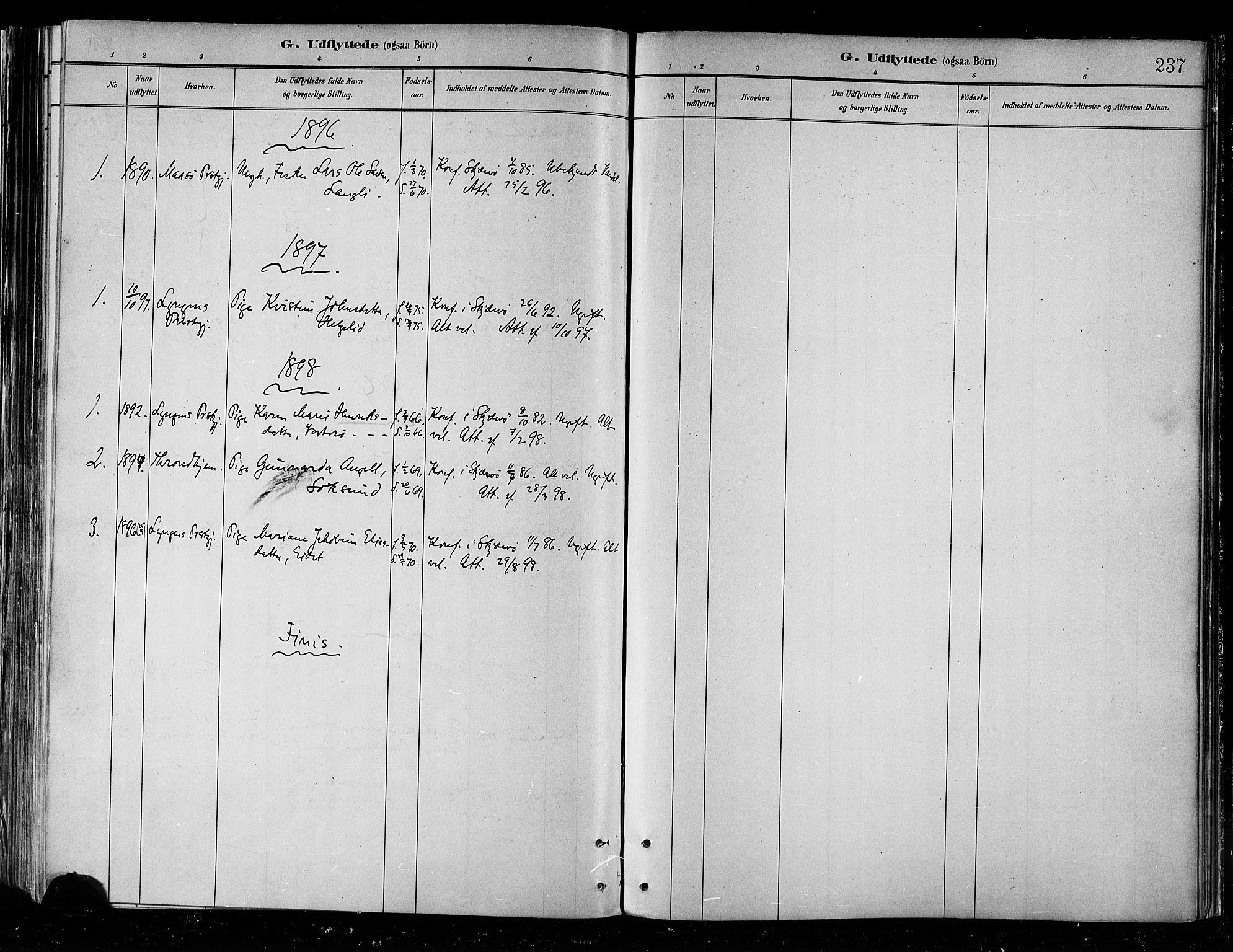 SATØ, Skjervøy sokneprestkontor, H/Ha/Haa/L0010kirke: Ministerialbok nr. 10, 1887-1898, s. 237