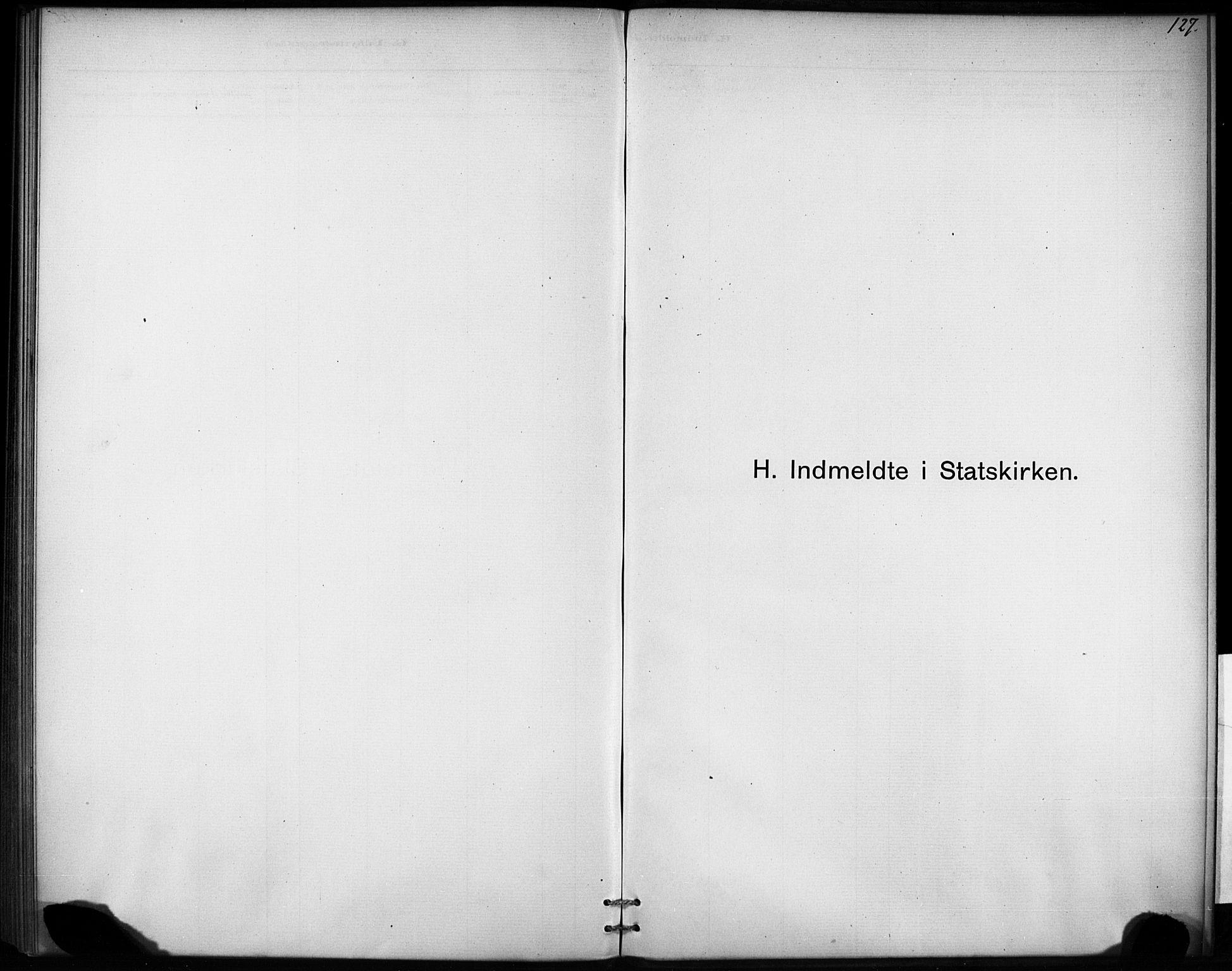 SAT, Ministerialprotokoller, klokkerbøker og fødselsregistre - Sør-Trøndelag, 693/L1119: Ministerialbok nr. 693A01, 1887-1905, s. 127