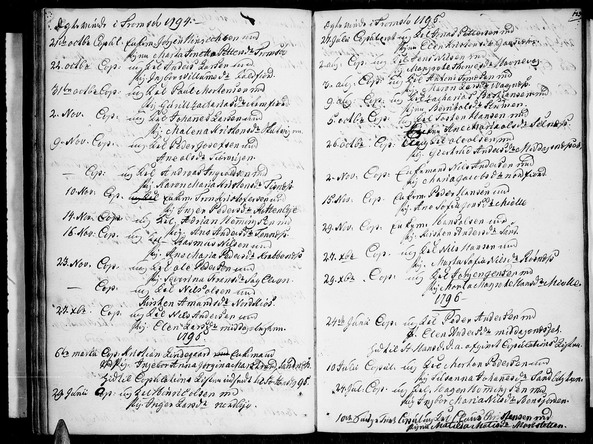 SATØ, Tromsø sokneprestkontor/stiftsprosti/domprosti, G/Ga/L0003kirke: Ministerialbok nr. 3, 1779-1796, s. 123