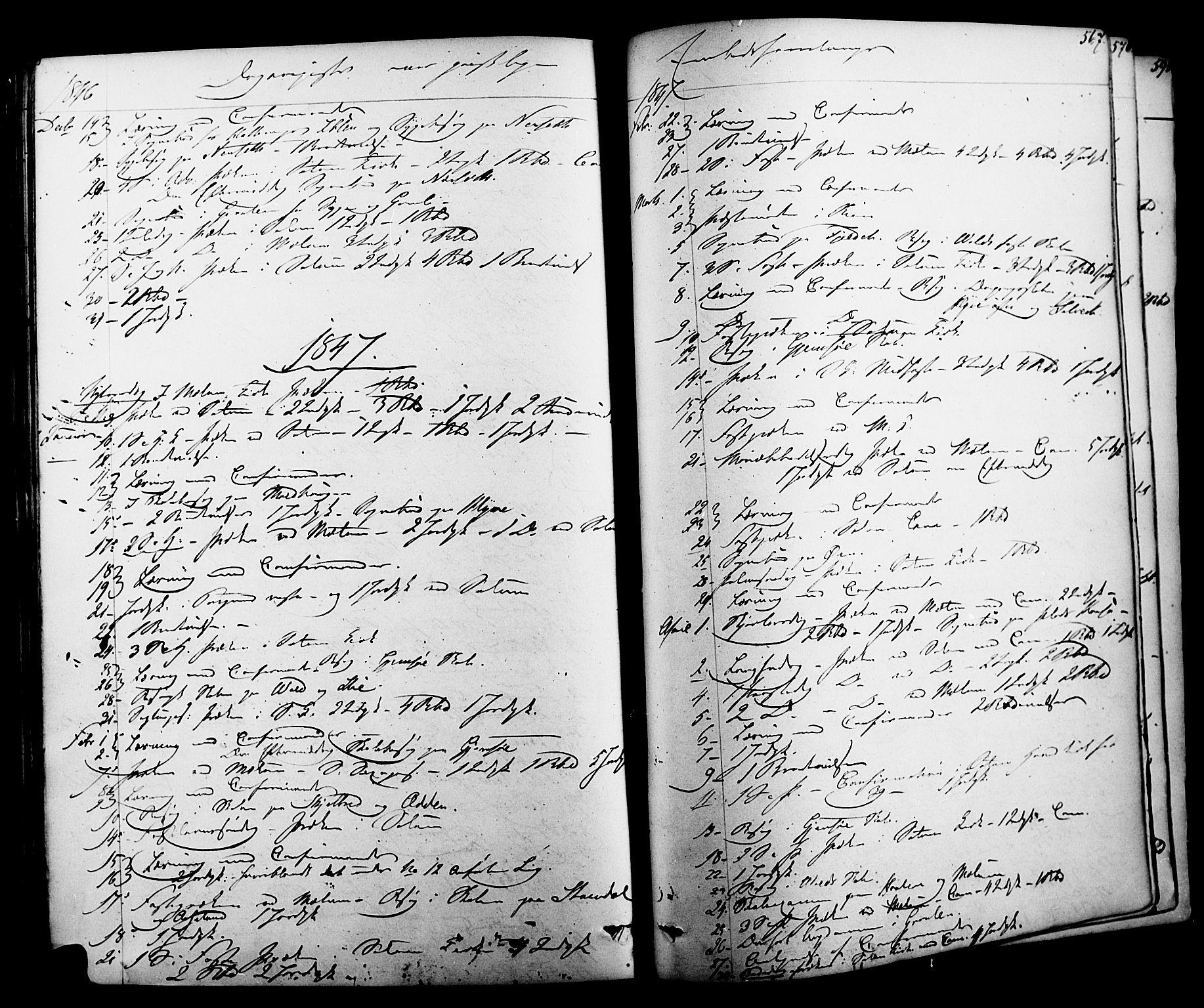 SAKO, Solum kirkebøker, F/Fa/L0006: Ministerialbok nr. I 6, 1844-1855, s. 567