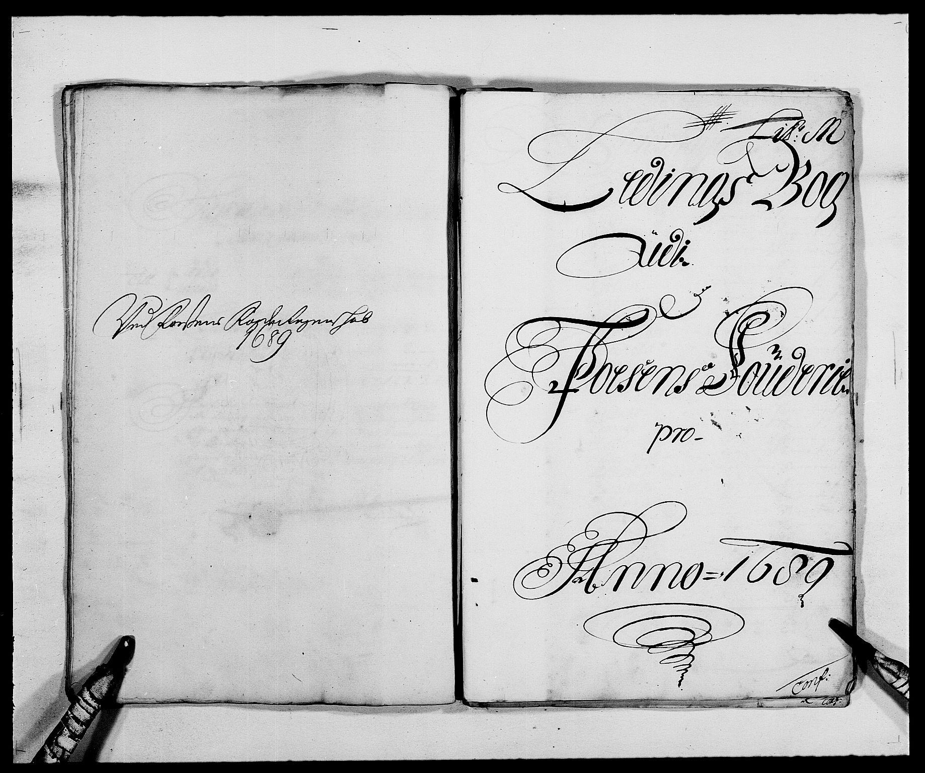 RA, Rentekammeret inntil 1814, Reviderte regnskaper, Fogderegnskap, R57/L3847: Fogderegnskap Fosen, 1689, s. 99