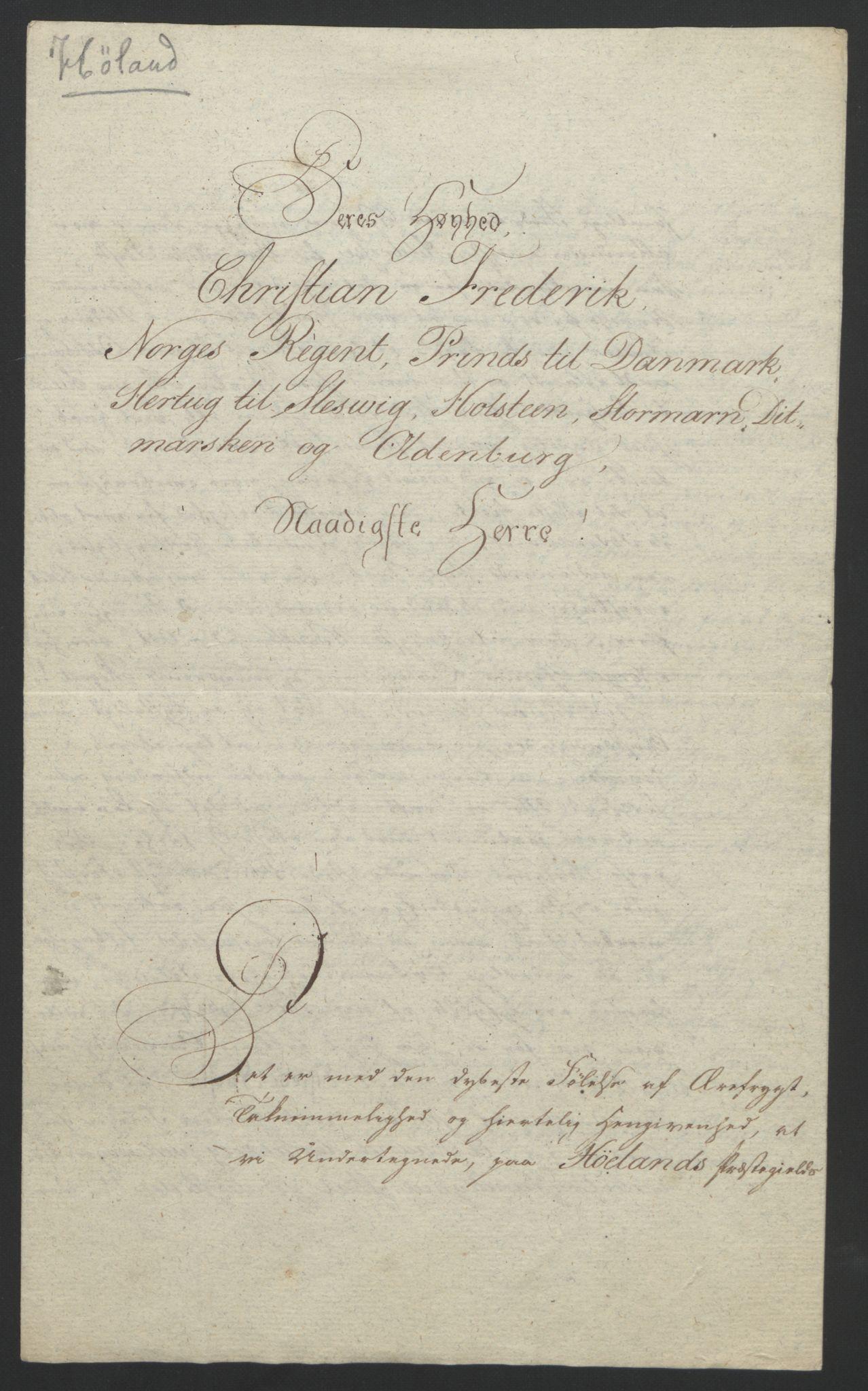 RA, Statsrådssekretariatet, D/Db/L0007: Fullmakter for Eidsvollsrepresentantene i 1814. , 1814, s. 188