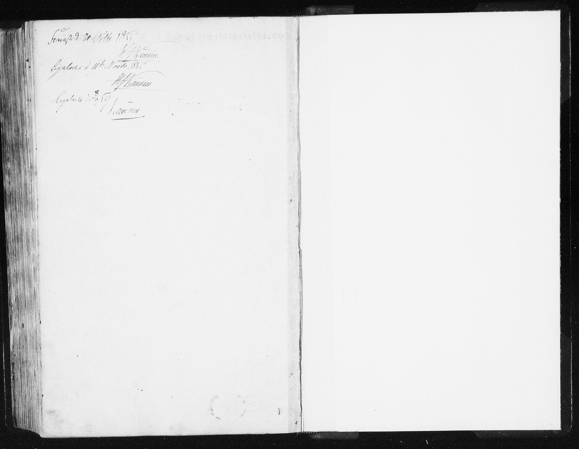 SAT, Ministerialprotokoller, klokkerbøker og fødselsregistre - Sør-Trøndelag, 612/L0376: Ministerialbok nr. 612A08, 1846-1859