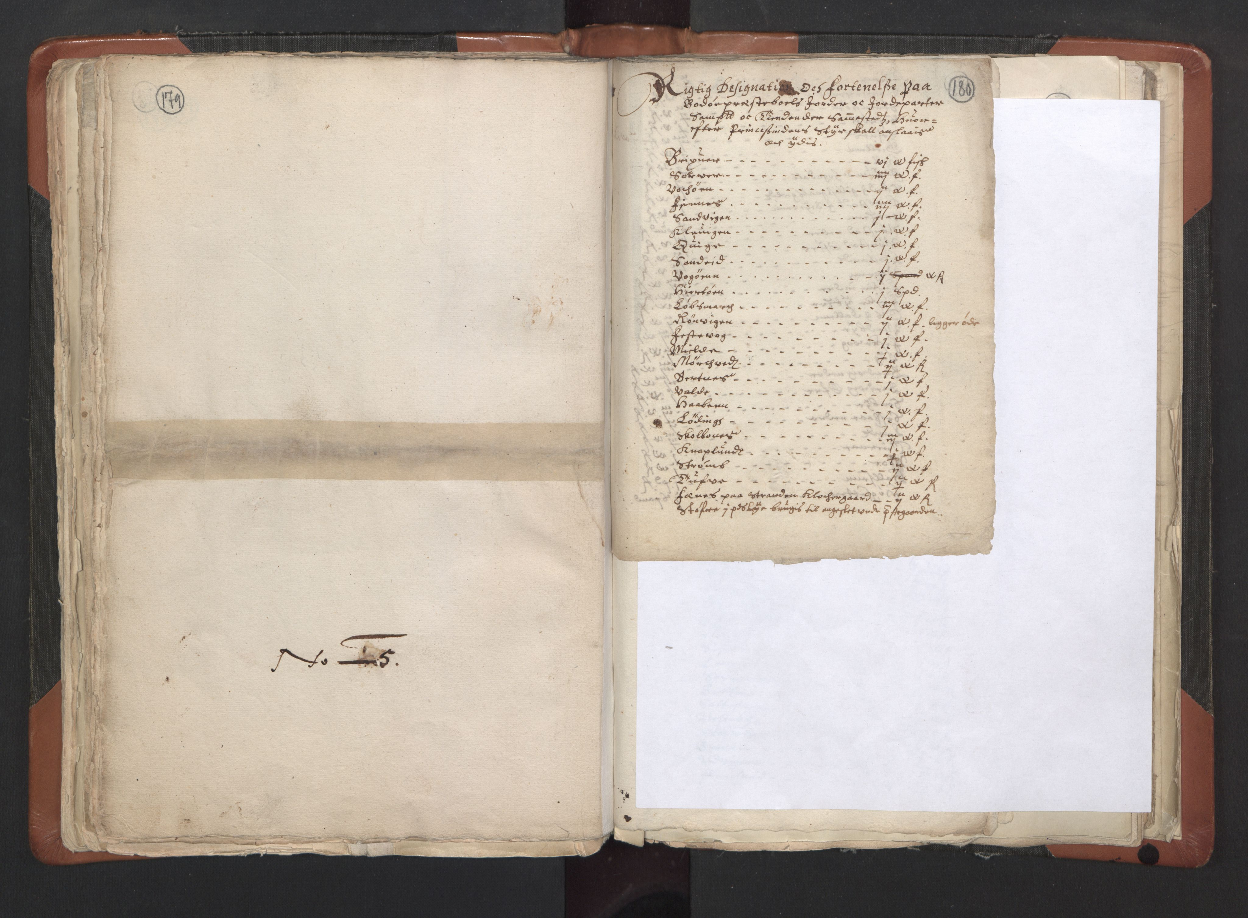 RA, Sogneprestenes manntall 1664-1666, nr. 35: Helgeland prosti og Salten prosti, 1664-1666, s. 179-180
