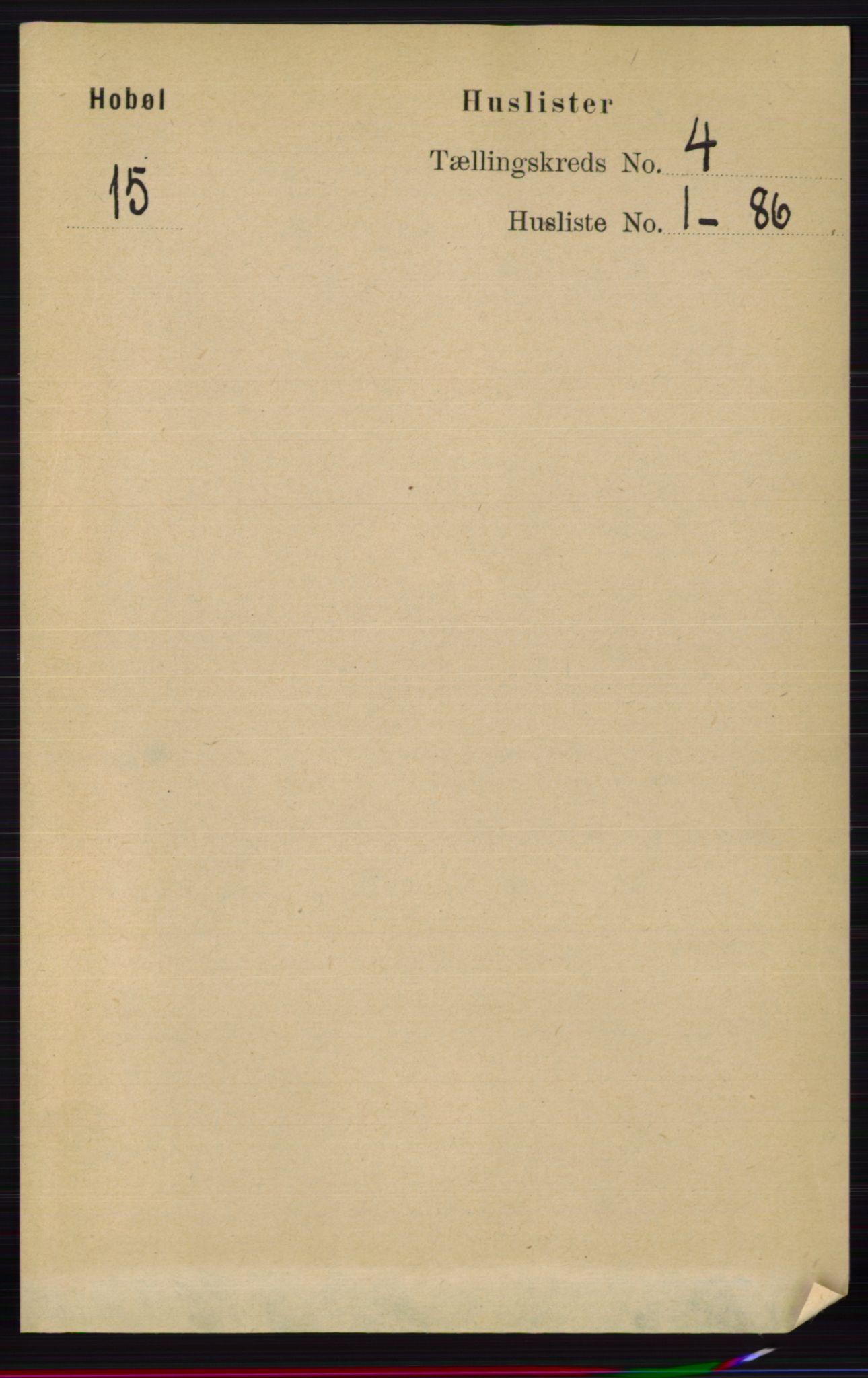 RA, Folketelling 1891 for 0138 Hobøl herred, 1891, s. 2326