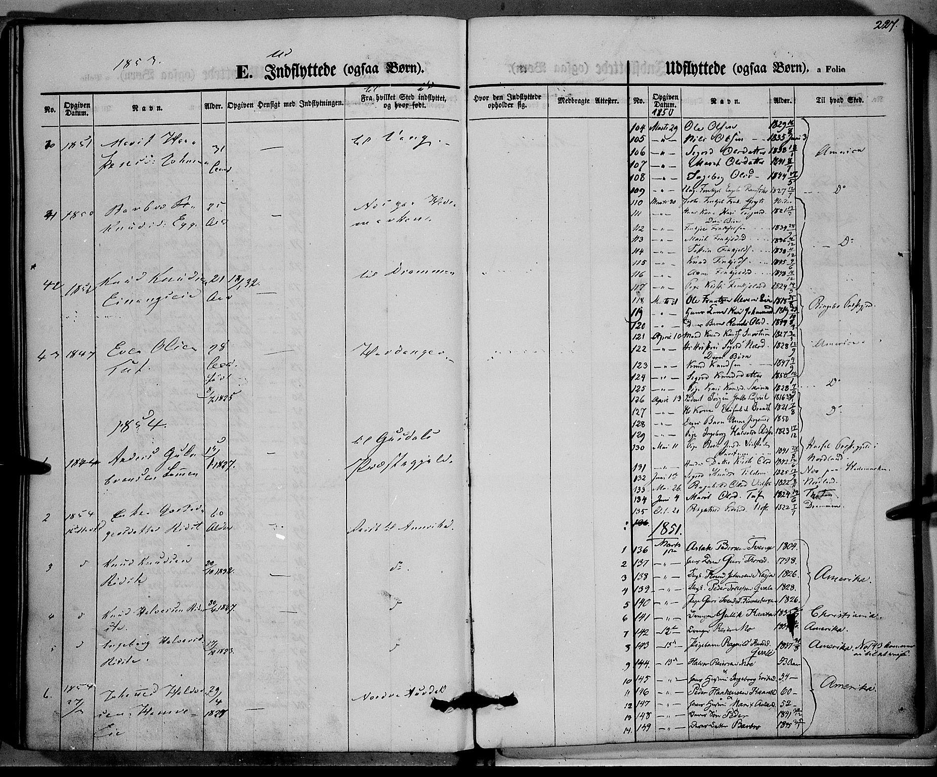 SAH, Vestre Slidre prestekontor, Ministerialbok nr. 1, 1844-1855, s. 227
