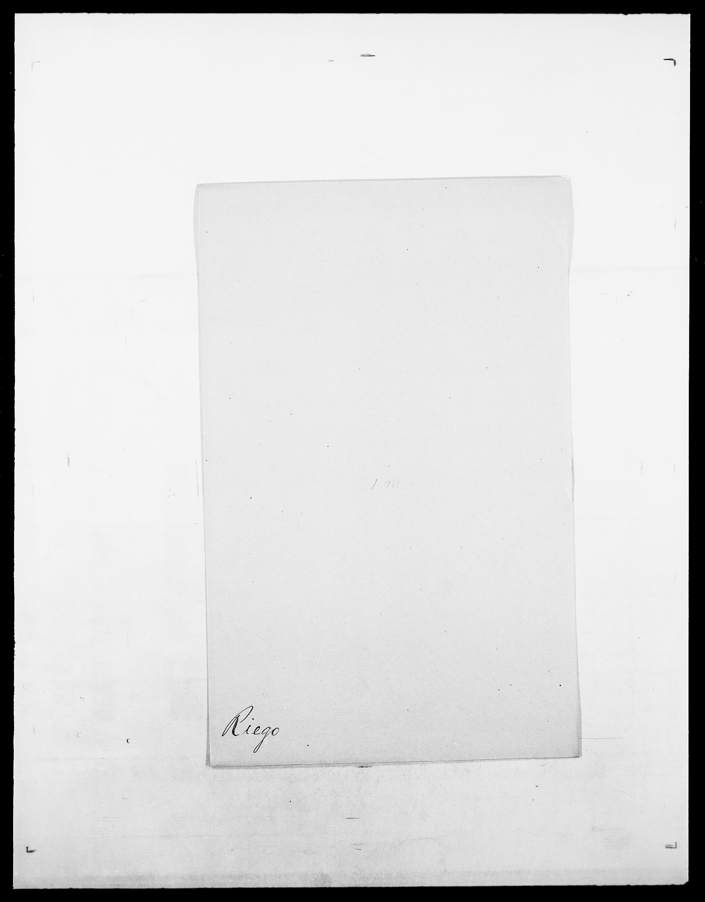 SAO, Delgobe, Charles Antoine - samling, D/Da/L0032: Rabakovsky - Rivertz, s. 597