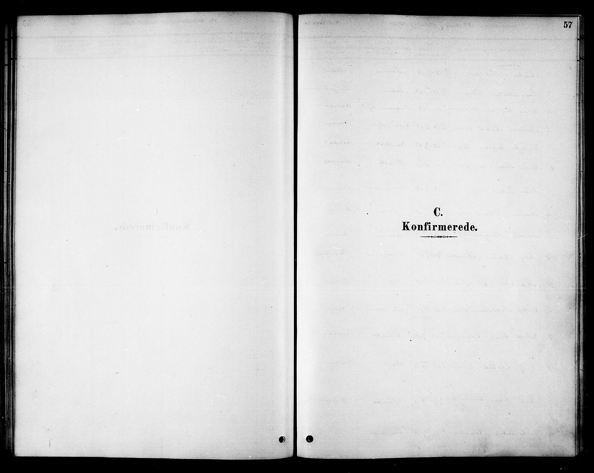 SAT, Ministerialprotokoller, klokkerbøker og fødselsregistre - Nord-Trøndelag, 742/L0408: Ministerialbok nr. 742A01, 1878-1890, s. 57