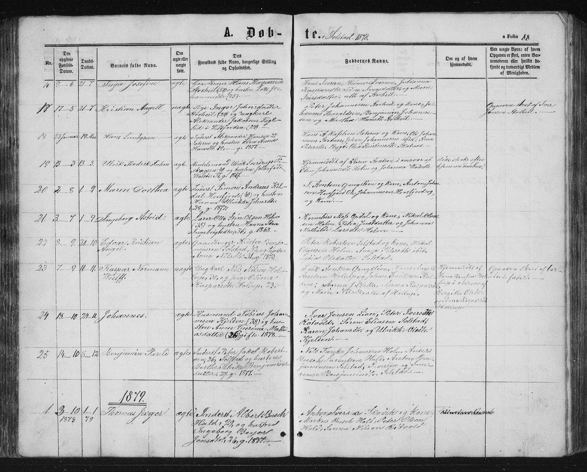 SAT, Ministerialprotokoller, klokkerbøker og fødselsregistre - Nordland, 810/L0159: Klokkerbok nr. 810C02 /2, 1863-1883, s. 88
