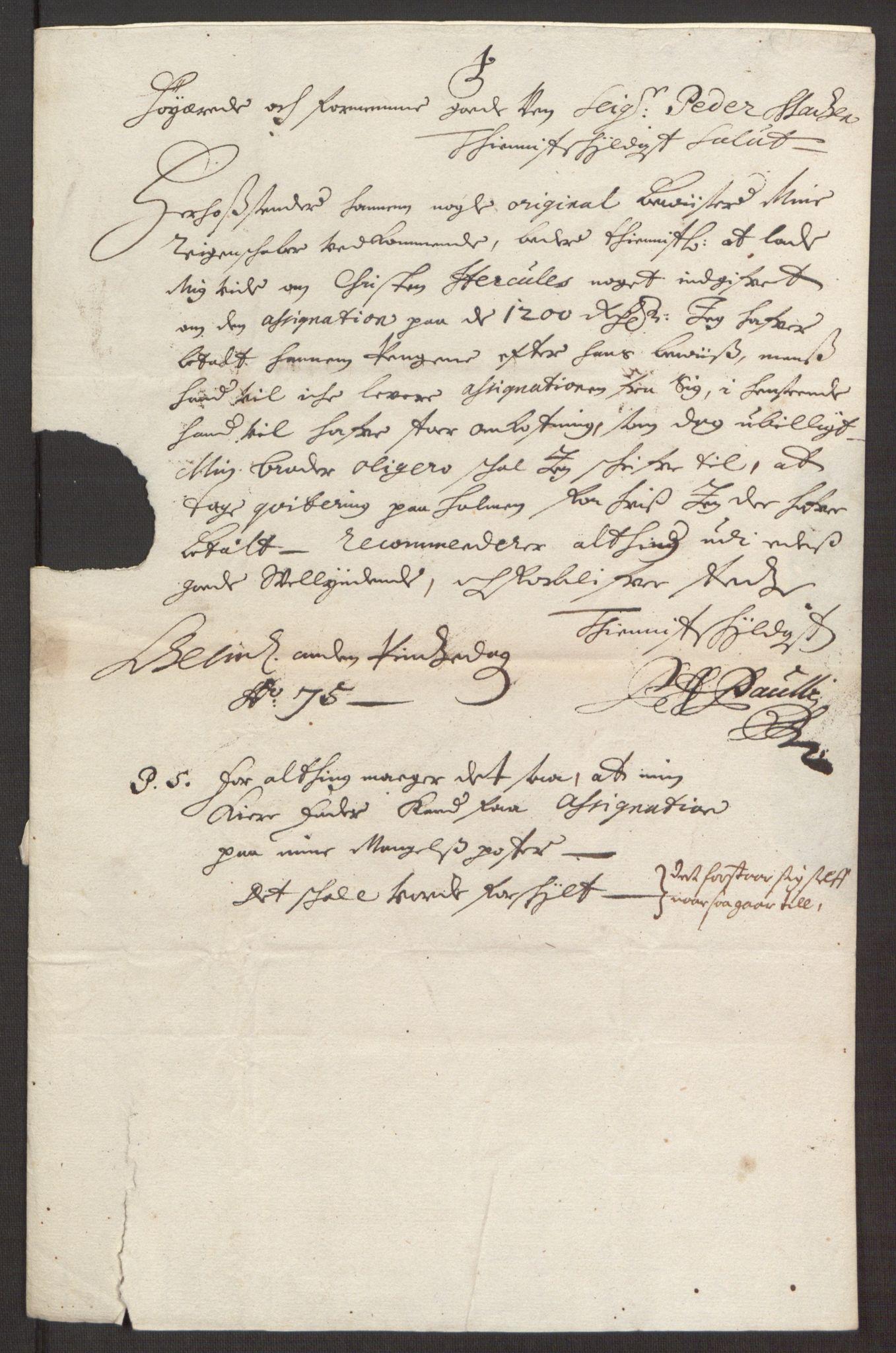 RA, Rentekammeret inntil 1814, Reviderte regnskaper, Fogderegnskap, R35/L2062: Fogderegnskap Øvre og Nedre Telemark, 1674, s. 406
