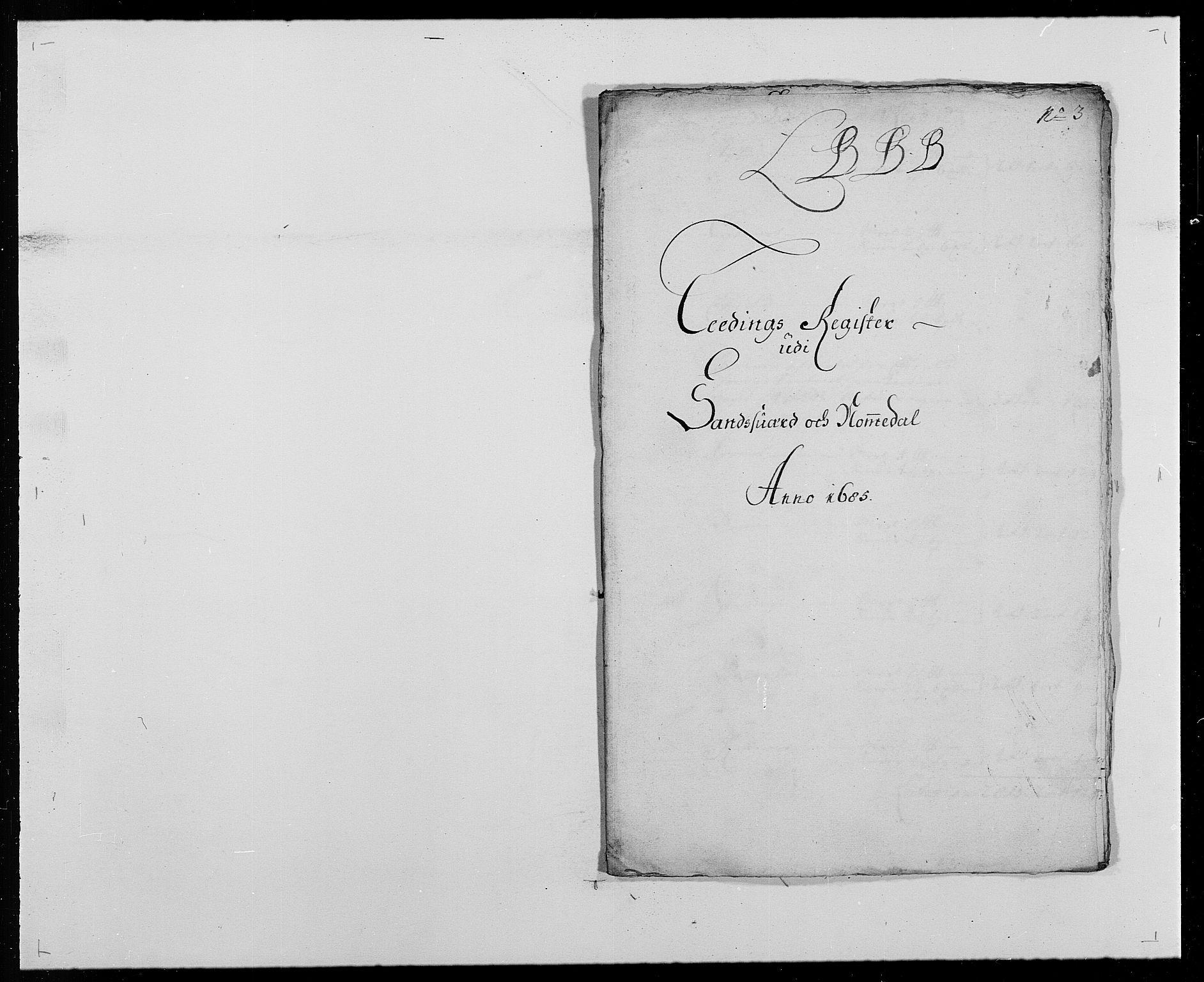 RA, Rentekammeret inntil 1814, Reviderte regnskaper, Fogderegnskap, R24/L1571: Fogderegnskap Numedal og Sandsvær, 1679-1686, s. 241