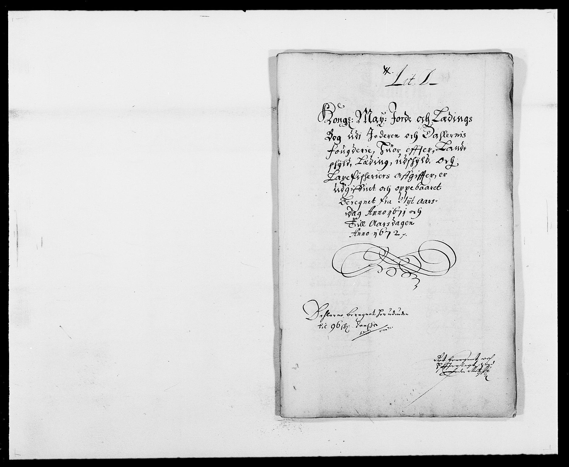 RA, Rentekammeret inntil 1814, Reviderte regnskaper, Fogderegnskap, R46/L2713: Fogderegnskap Jæren og Dalane, 1671-1672, s. 78