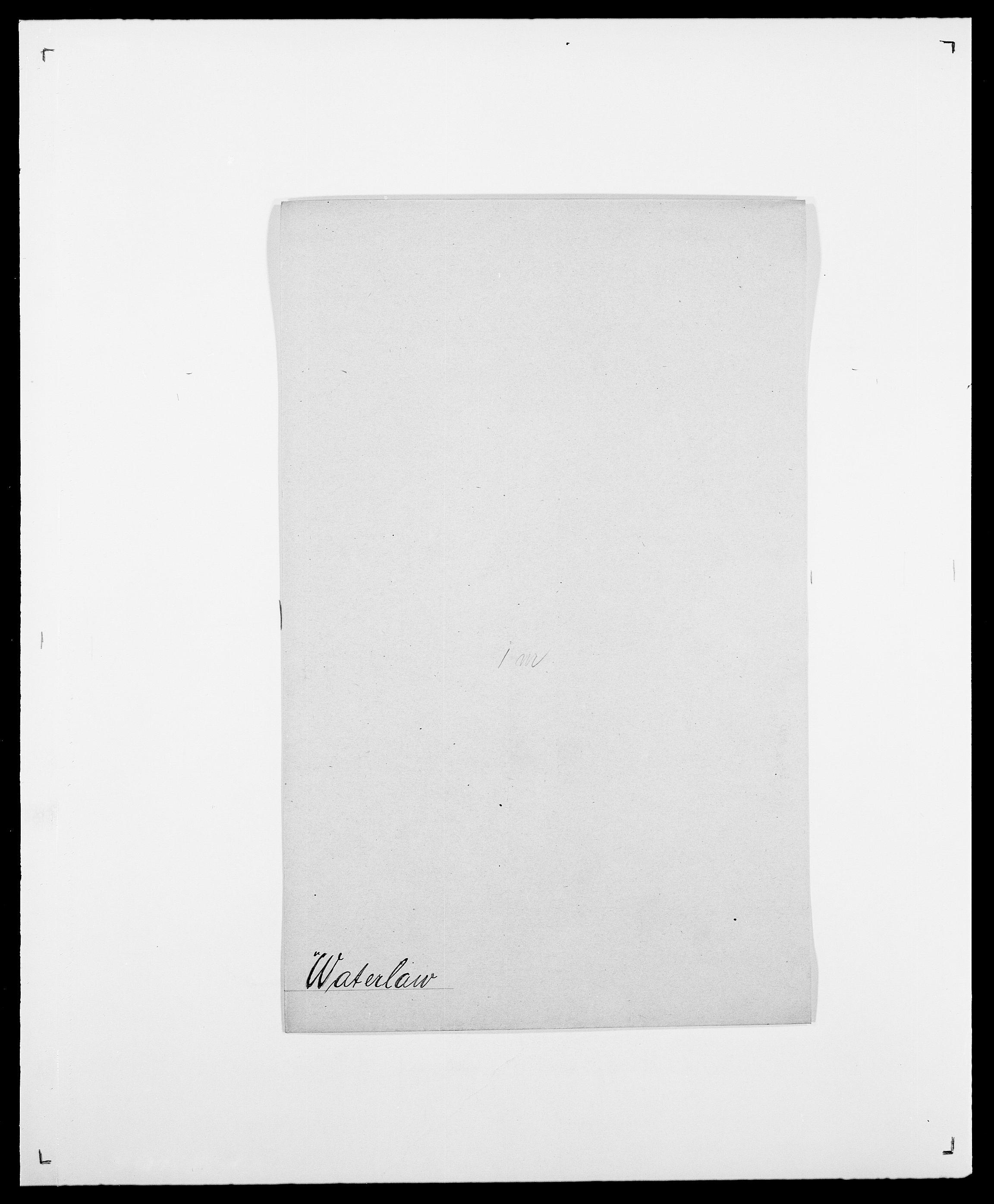 SAO, Delgobe, Charles Antoine - samling, D/Da/L0040: Usgaard - Velund, s. 373
