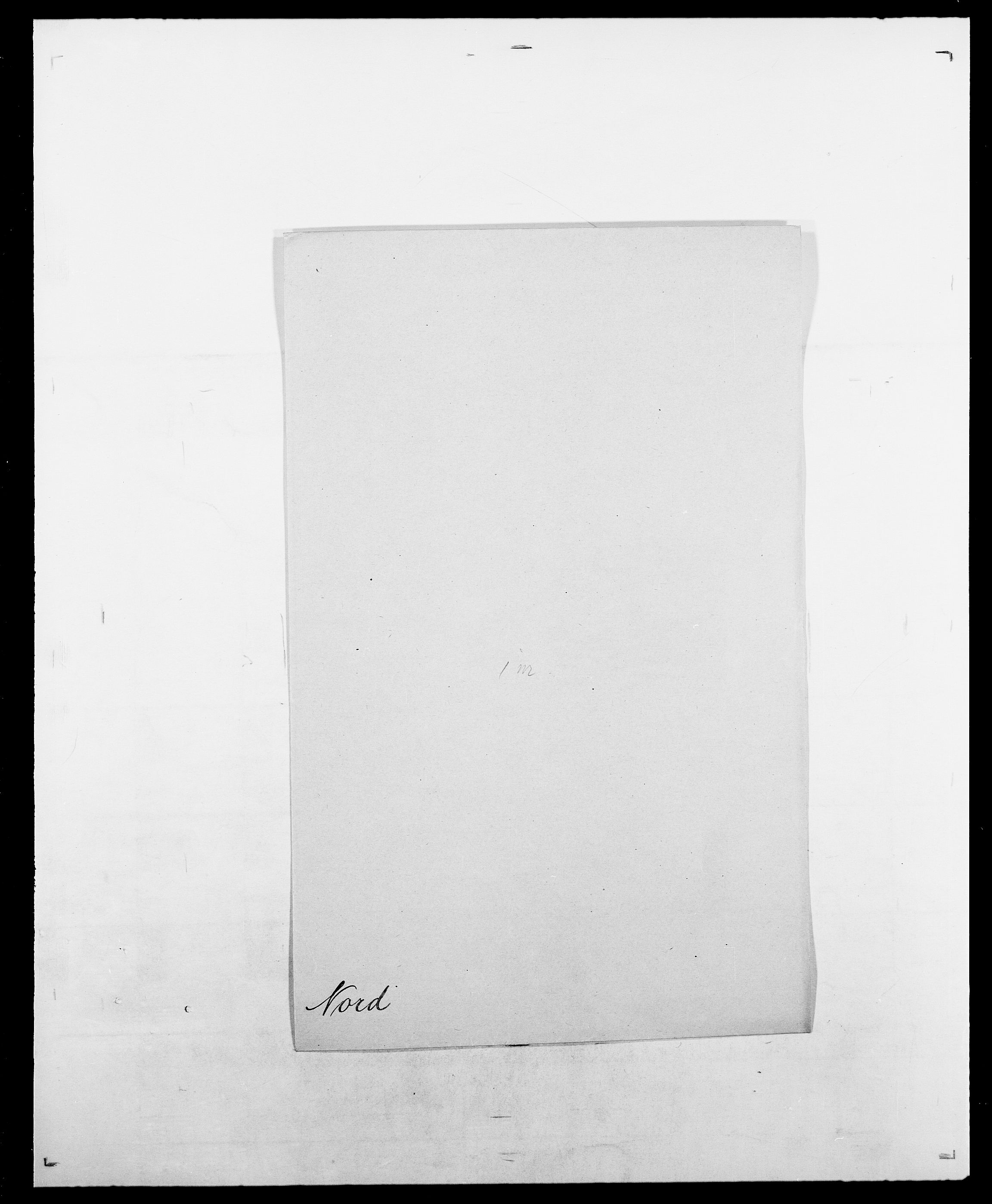 SAO, Delgobe, Charles Antoine - samling, D/Da/L0028: Naaden - Nøvik, s. 397