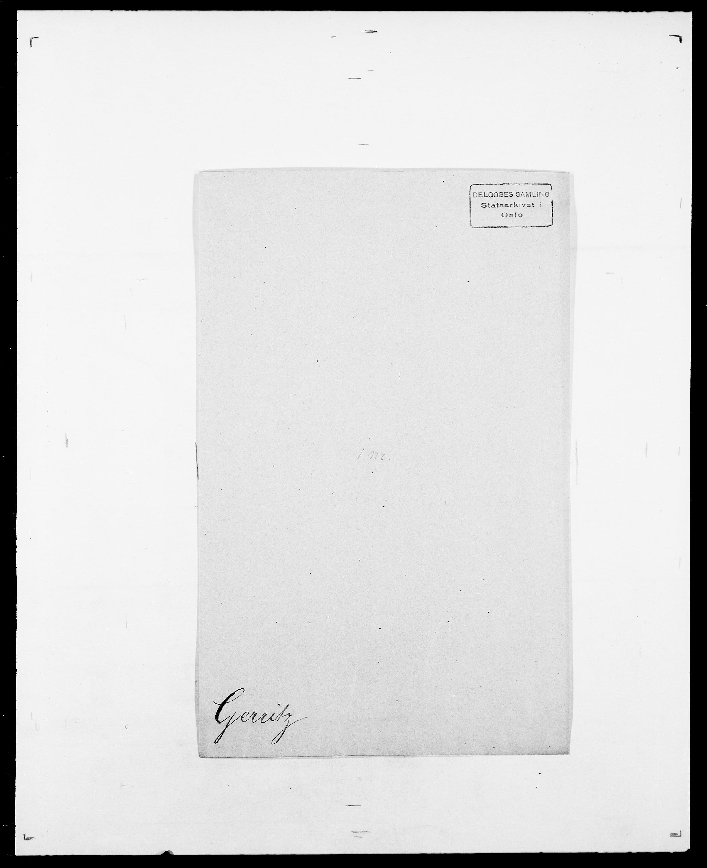 SAO, Delgobe, Charles Antoine - samling, D/Da/L0013: Forbos - Geving, s. 641