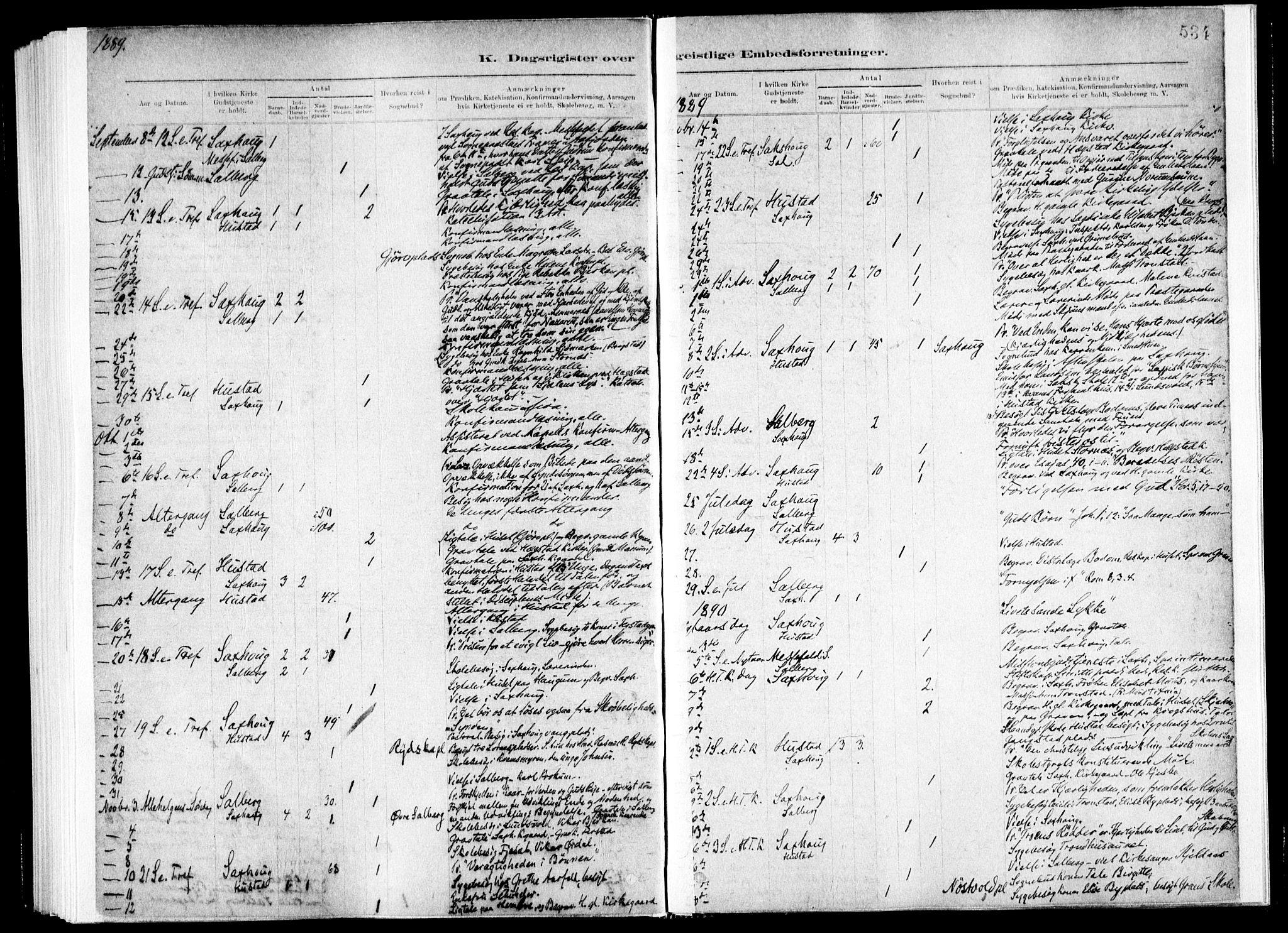 SAT, Ministerialprotokoller, klokkerbøker og fødselsregistre - Nord-Trøndelag, 730/L0285: Ministerialbok nr. 730A10, 1879-1914, s. 534