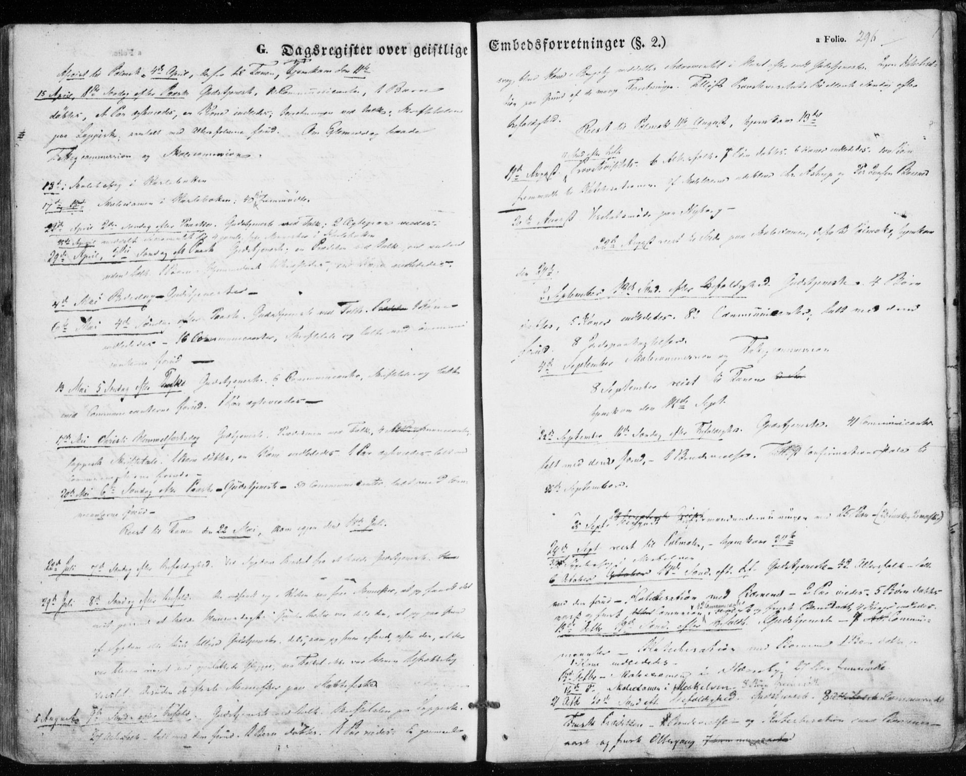 SATØ, Nesseby sokneprestkontor, H/Ha/L0002kirke: Ministerialbok nr. 2, 1856-1864, s. 296