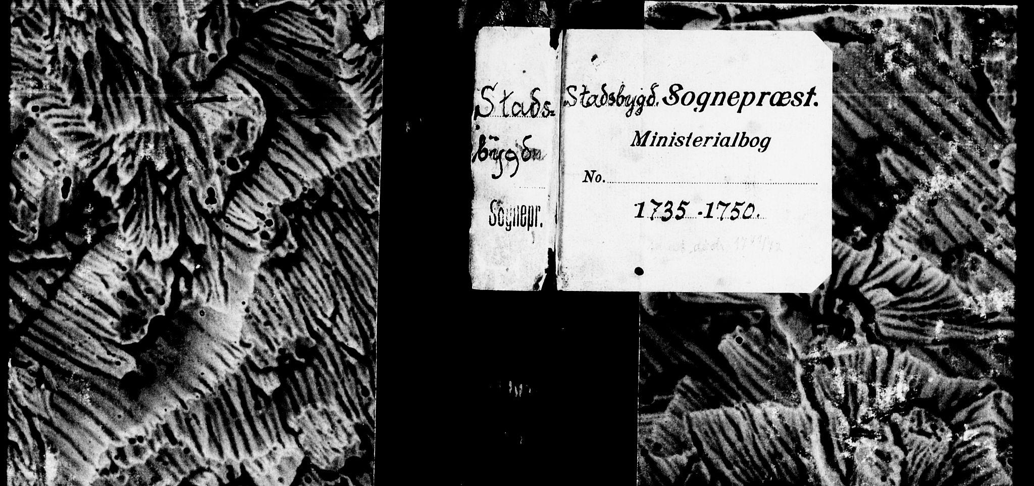 SAT, Ministerialprotokoller, klokkerbøker og fødselsregistre - Sør-Trøndelag, 646/L0604: Ministerialbok nr. 646A02, 1735-1750