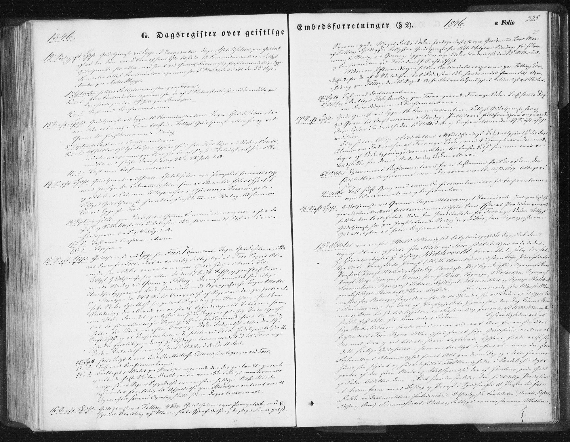 SAT, Ministerialprotokoller, klokkerbøker og fødselsregistre - Nord-Trøndelag, 746/L0446: Ministerialbok nr. 746A05, 1846-1859, s. 325