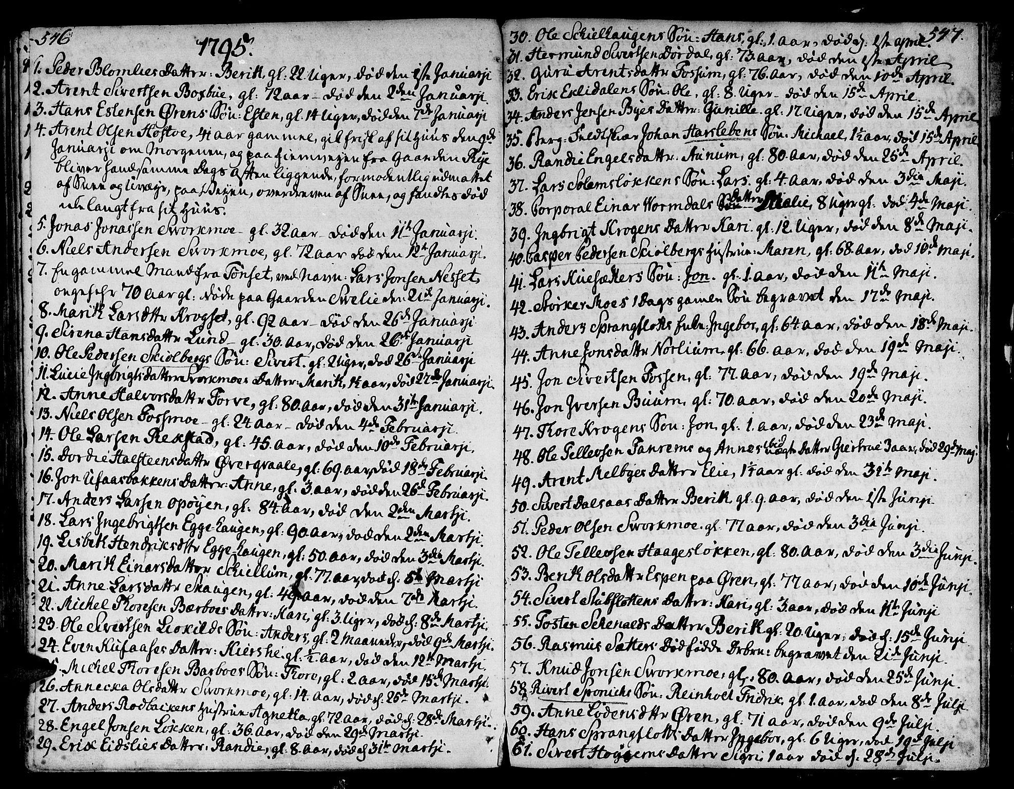 SAT, Ministerialprotokoller, klokkerbøker og fødselsregistre - Sør-Trøndelag, 668/L0802: Ministerialbok nr. 668A02, 1776-1799, s. 546-547