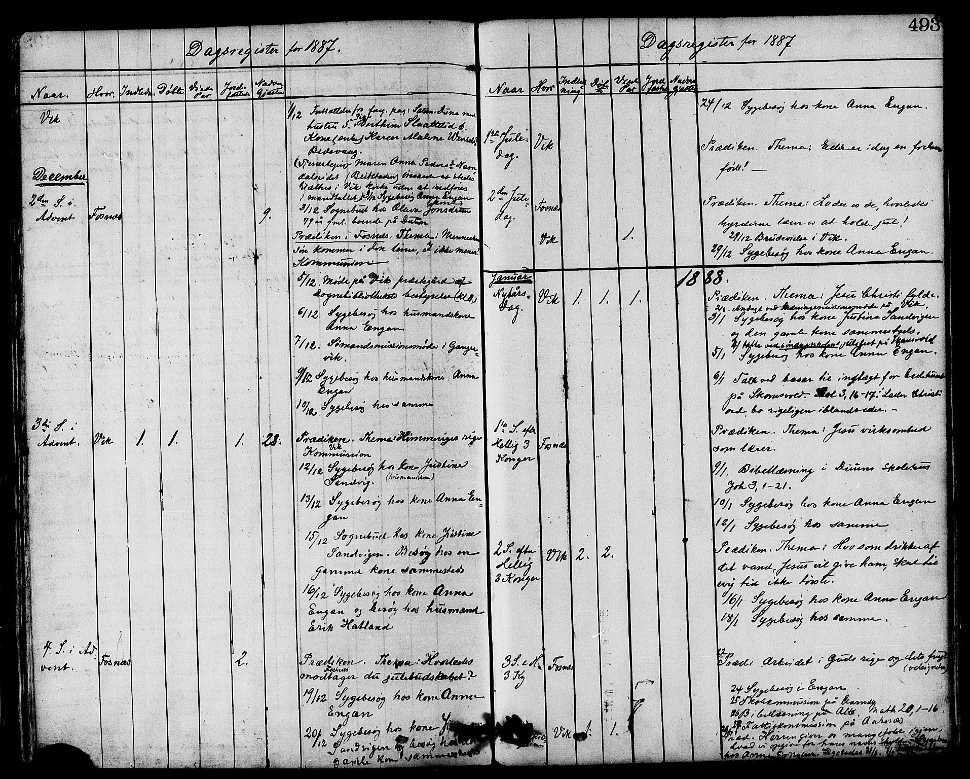SAT, Ministerialprotokoller, klokkerbøker og fødselsregistre - Nord-Trøndelag, 773/L0616: Ministerialbok nr. 773A07, 1870-1887, s. 493
