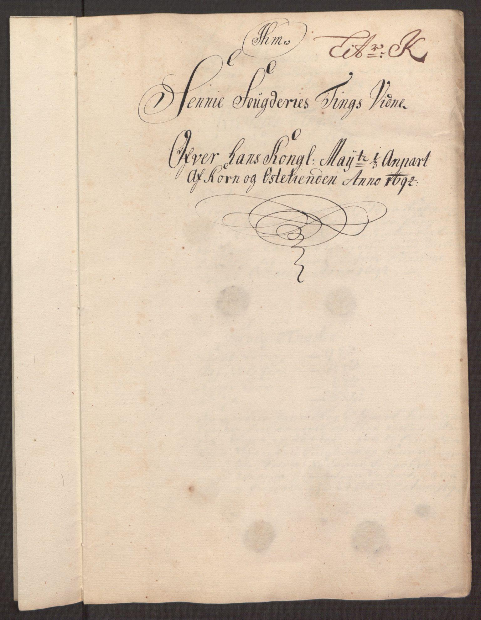 RA, Rentekammeret inntil 1814, Reviderte regnskaper, Fogderegnskap, R68/L4753: Fogderegnskap Senja og Troms, 1694-1696, s. 125