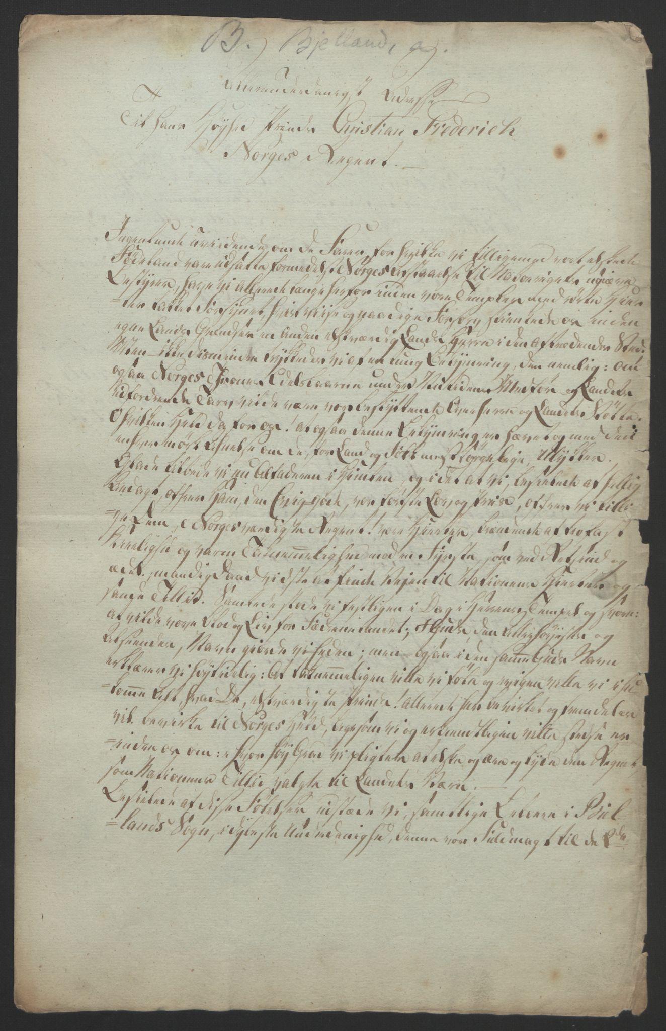 RA, Statsrådssekretariatet, D/Db/L0008: Fullmakter for Eidsvollsrepresentantene i 1814. , 1814, s. 160