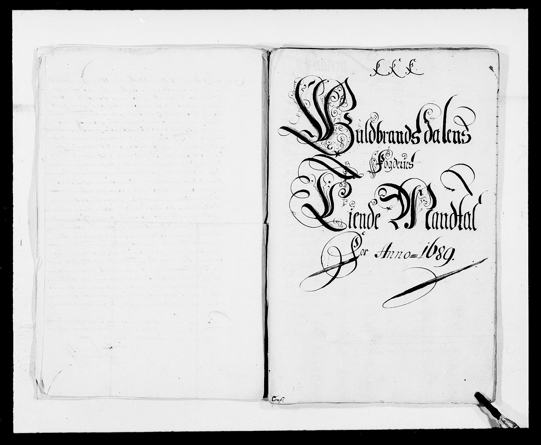 RA, Rentekammeret inntil 1814, Reviderte regnskaper, Fogderegnskap, R17/L1164: Fogderegnskap Gudbrandsdal, 1682-1689, s. 35