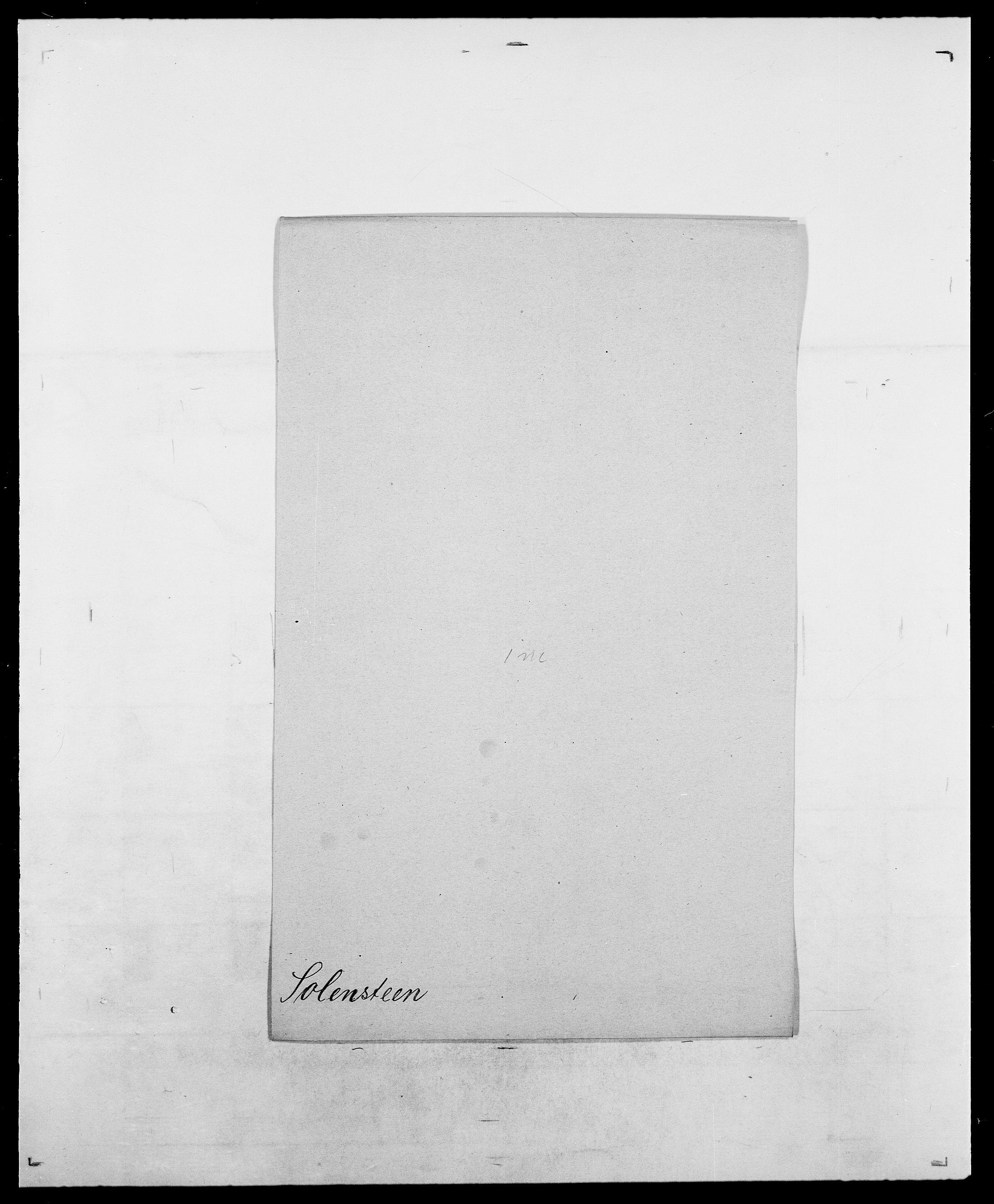 SAO, Delgobe, Charles Antoine - samling, D/Da/L0036: Skaanør - Staverskov, s. 398