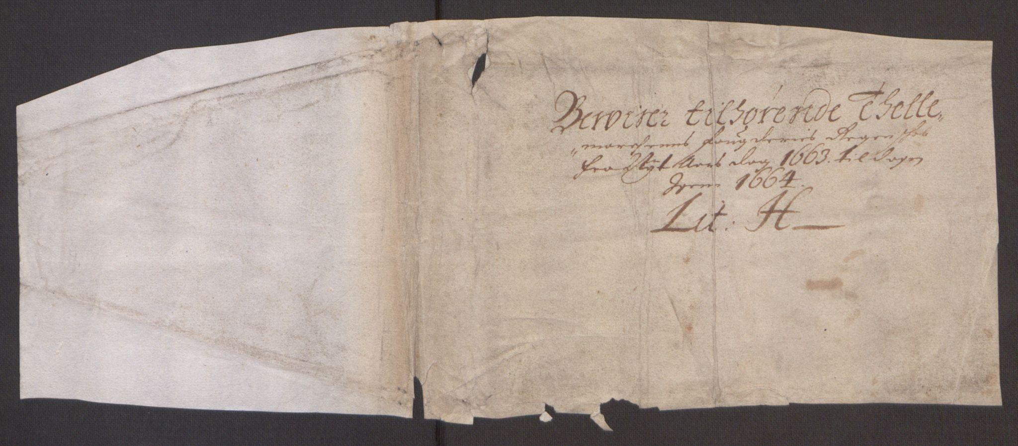 RA, Rentekammeret inntil 1814, Reviderte regnskaper, Fogderegnskap, R35/L2054: Fogderegnskap Øvre og Nedre Telemark, 1662-1663, s. 372