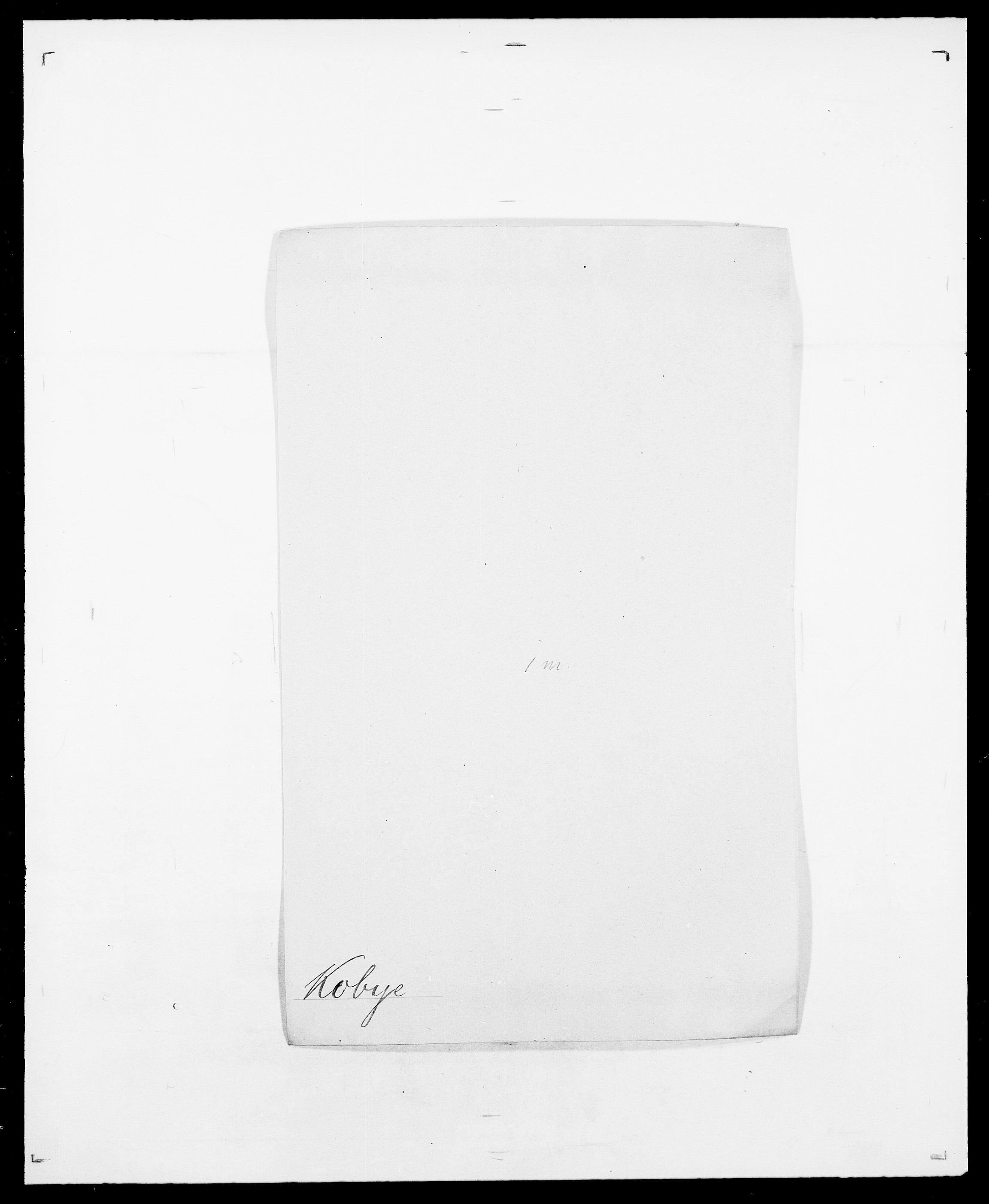 SAO, Delgobe, Charles Antoine - samling, D/Da/L0021: Klagenberg - Kristoft, s. 415