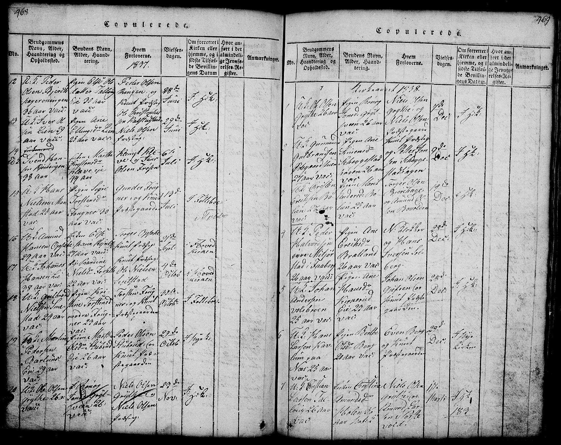 SAH, Gausdal prestekontor, Klokkerbok nr. 1, 1817-1848, s. 468-469