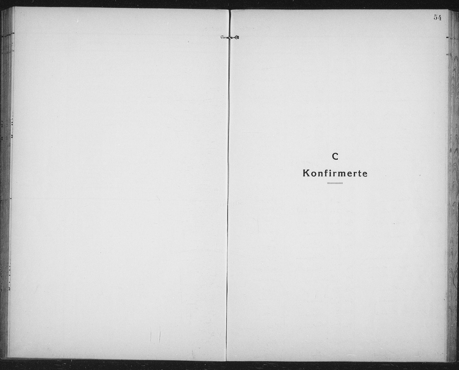 SATØ, Lenvik sokneprestembete, H/Ha/Hab/L0023klokker: Klokkerbok nr. 23, 1918-1936, s. 54