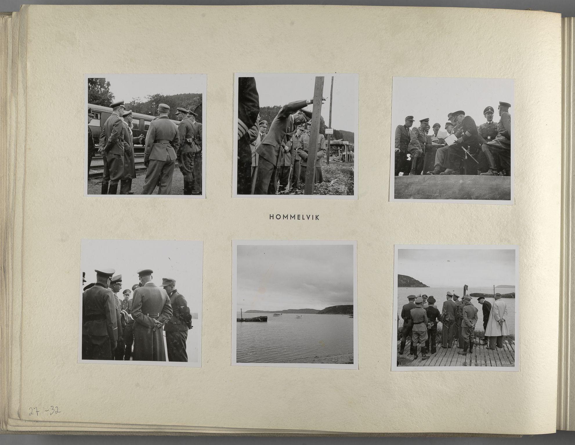 RA, Tyske arkiver, Reichskommissariat, Bildarchiv, U/L0071: Fotoalbum: Mit dem Reichskommissar nach Nordnorwegen und Finnland 10. bis 27. Juli 1942, 1942, s. 18