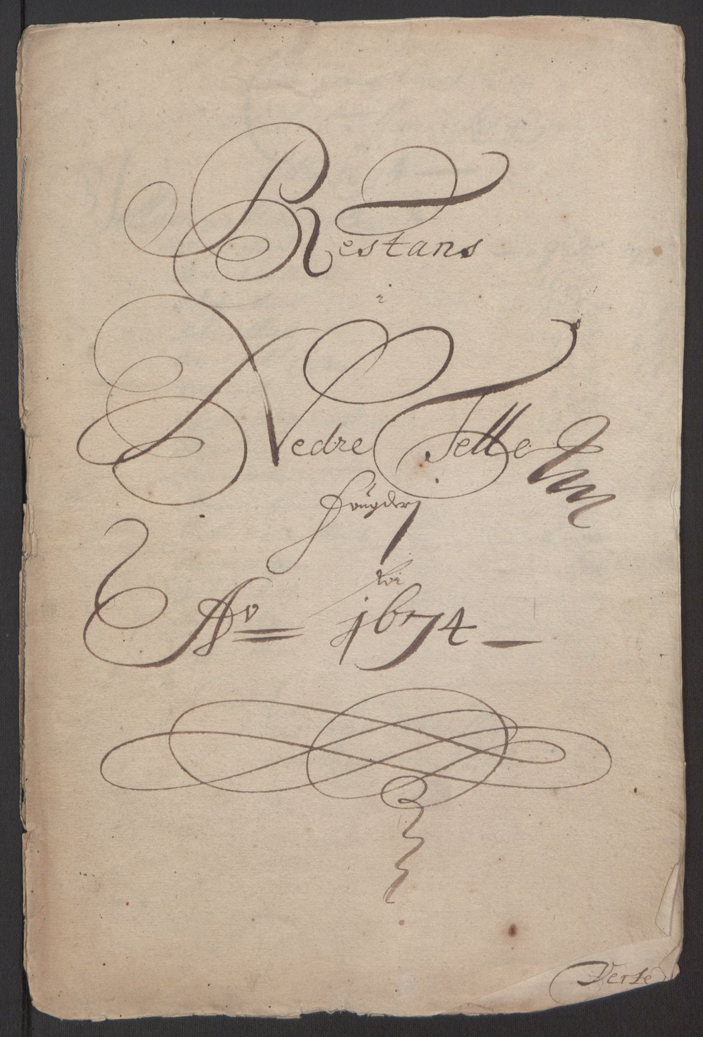 RA, Rentekammeret inntil 1814, Reviderte regnskaper, Fogderegnskap, R35/L2061: Fogderegnskap Øvre og Nedre Telemark, 1673-1674, s. 200