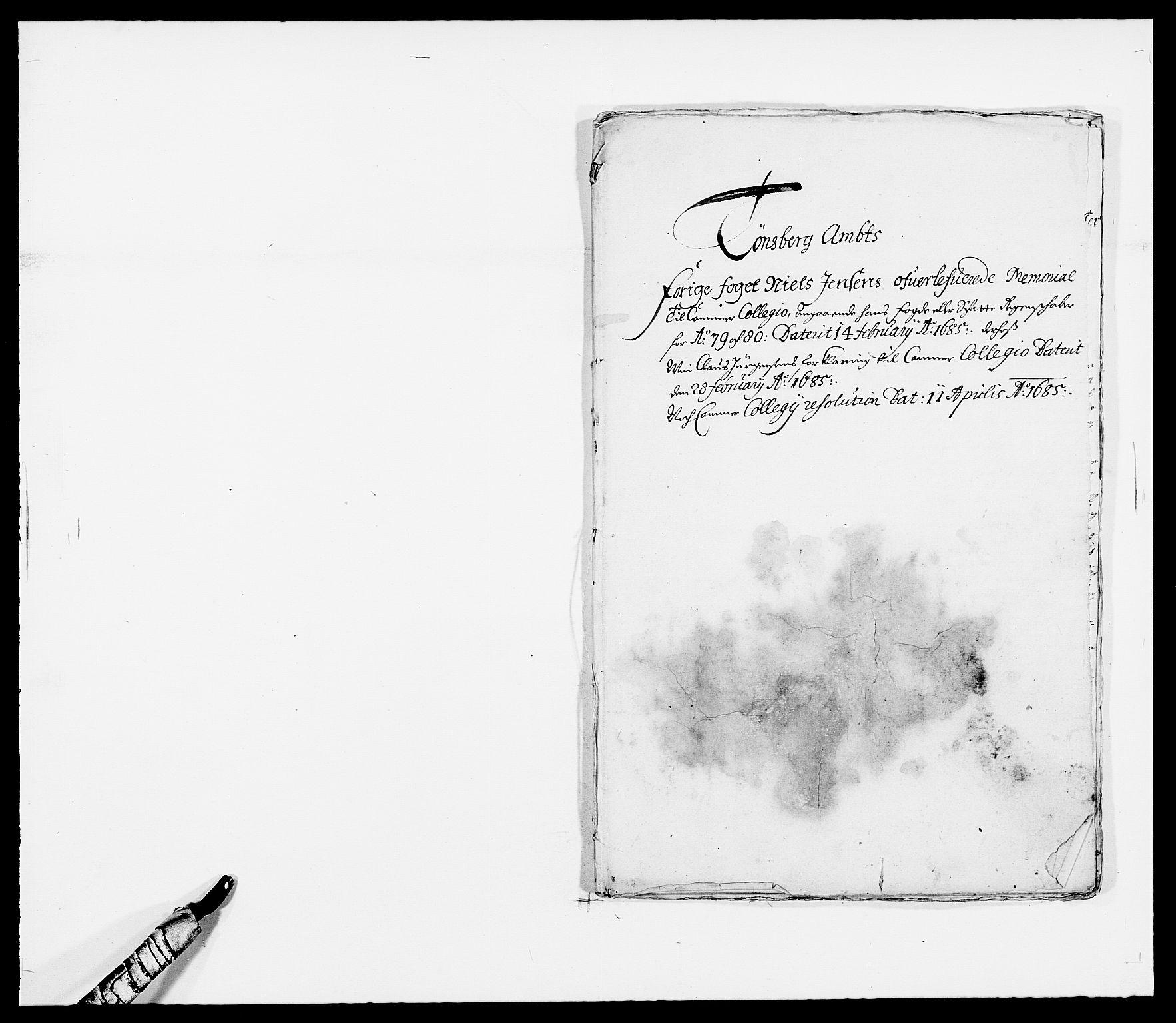 RA, Rentekammeret inntil 1814, Reviderte regnskaper, Fogderegnskap, R32/L1849: Fogderegnskap Jarlsberg grevskap, 1679-1680, s. 91